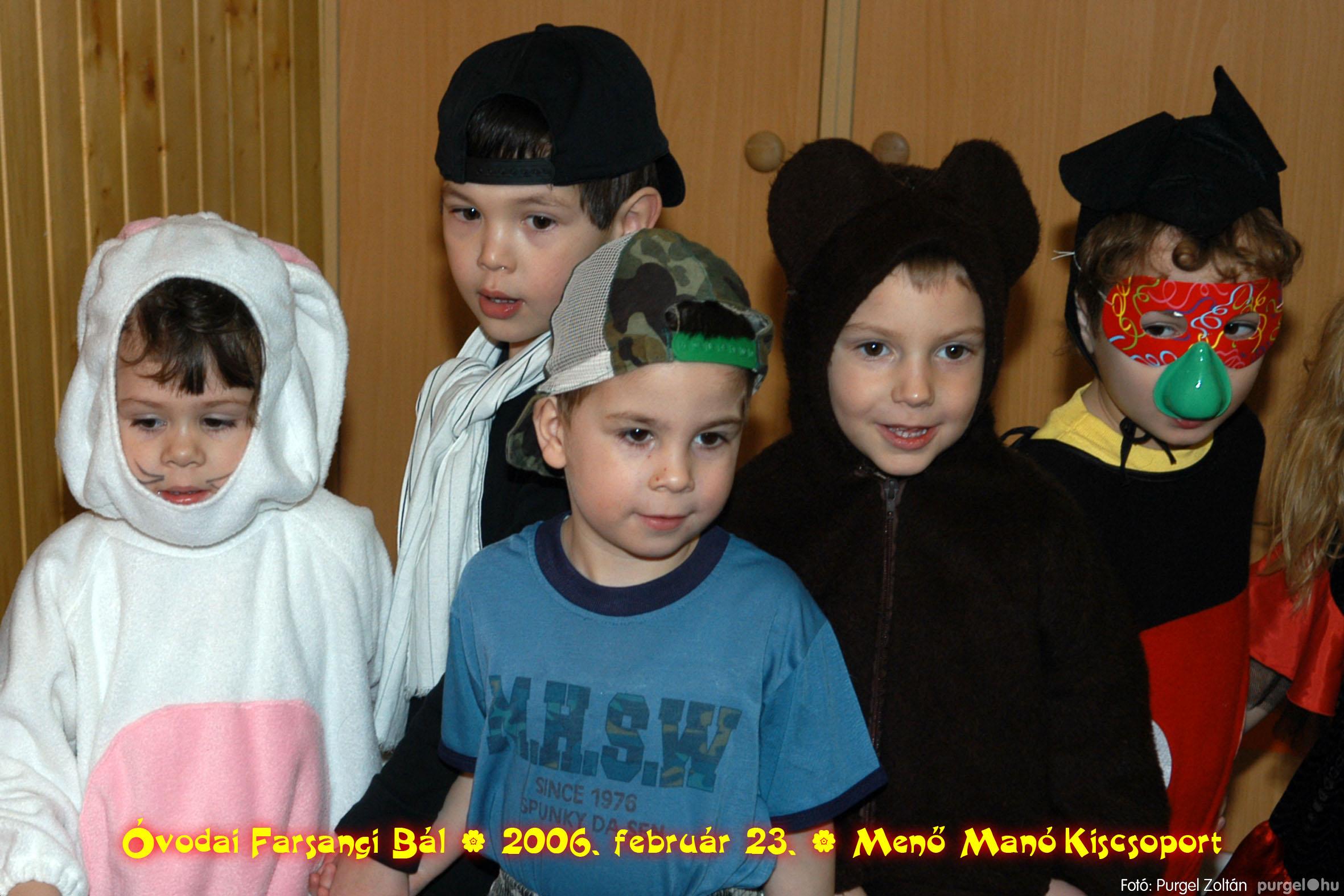 2006.02.23. 041 Kurca-parti Óvoda farsang 2006. - Menő-Manó csoport - Fotó:PURGEL ZOLTÁN©.jpg