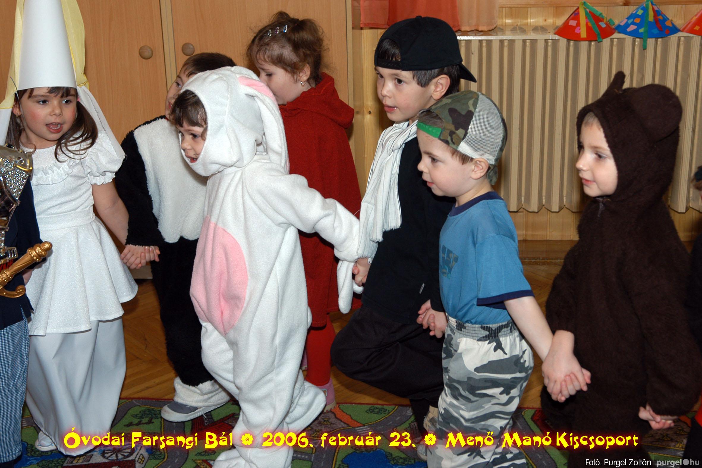2006.02.23. 039 Kurca-parti Óvoda farsang 2006. - Menő-Manó csoport - Fotó:PURGEL ZOLTÁN©.jpg