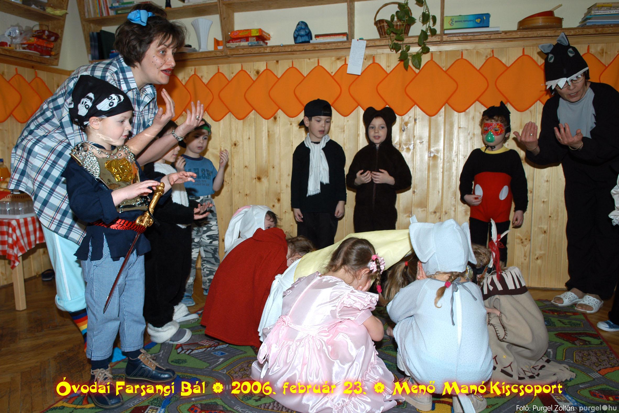 2006.02.23. 036 Kurca-parti Óvoda farsang 2006. - Menő-Manó csoport - Fotó:PURGEL ZOLTÁN©.jpg