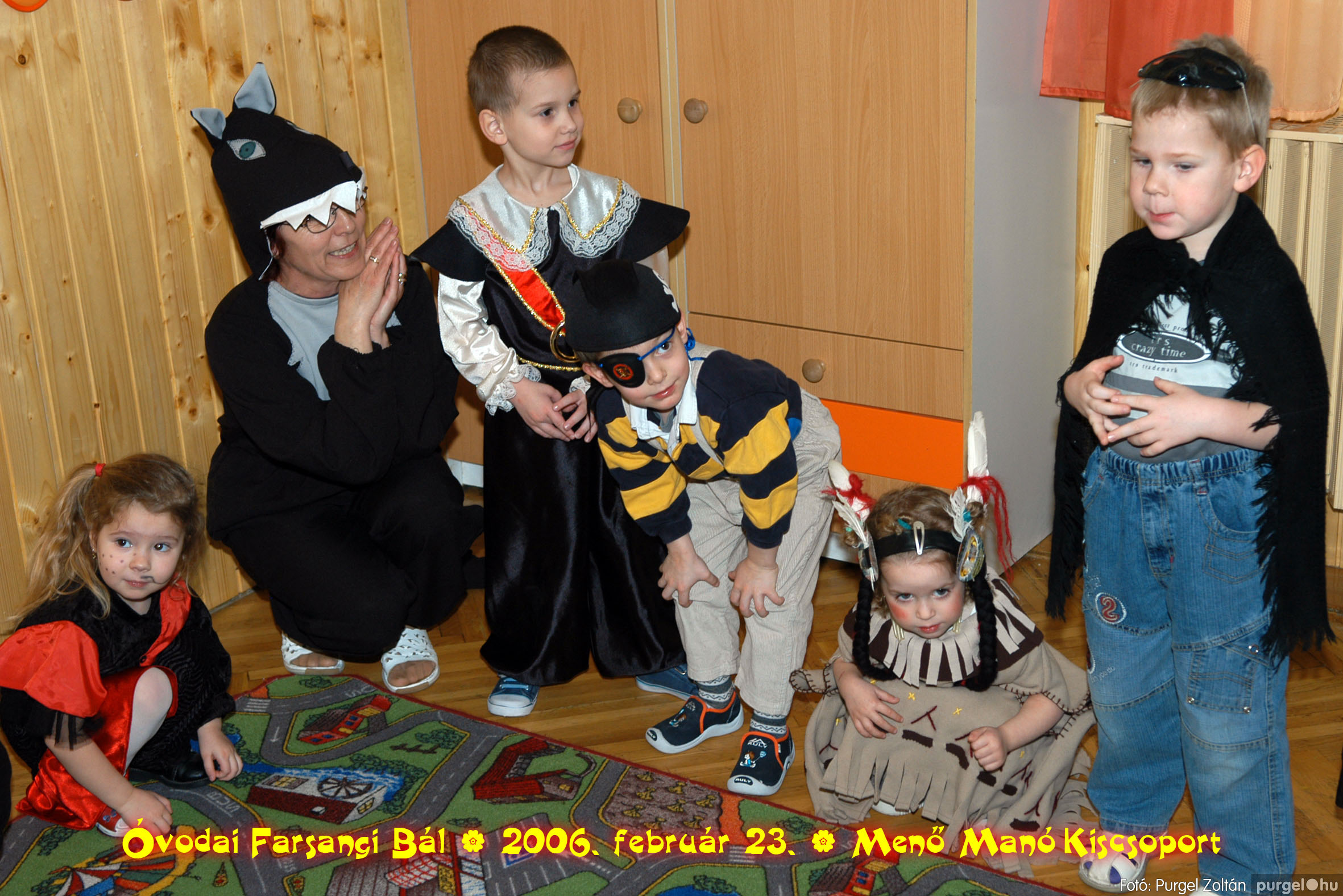 2006.02.23. 034 Kurca-parti Óvoda farsang 2006. - Menő-Manó csoport - Fotó:PURGEL ZOLTÁN©.jpg