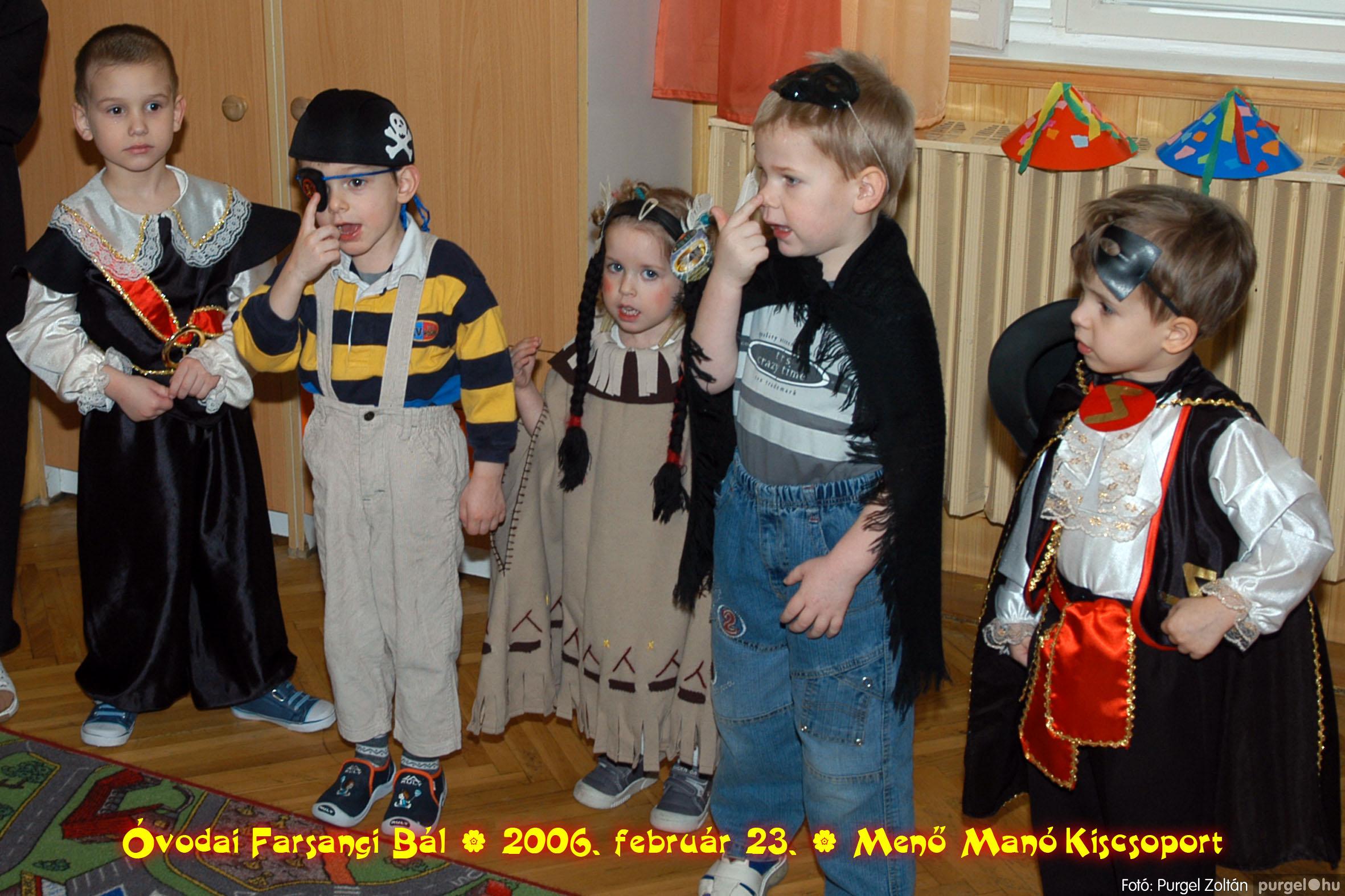 2006.02.23. 032 Kurca-parti Óvoda farsang 2006. - Menő-Manó csoport - Fotó:PURGEL ZOLTÁN©.jpg