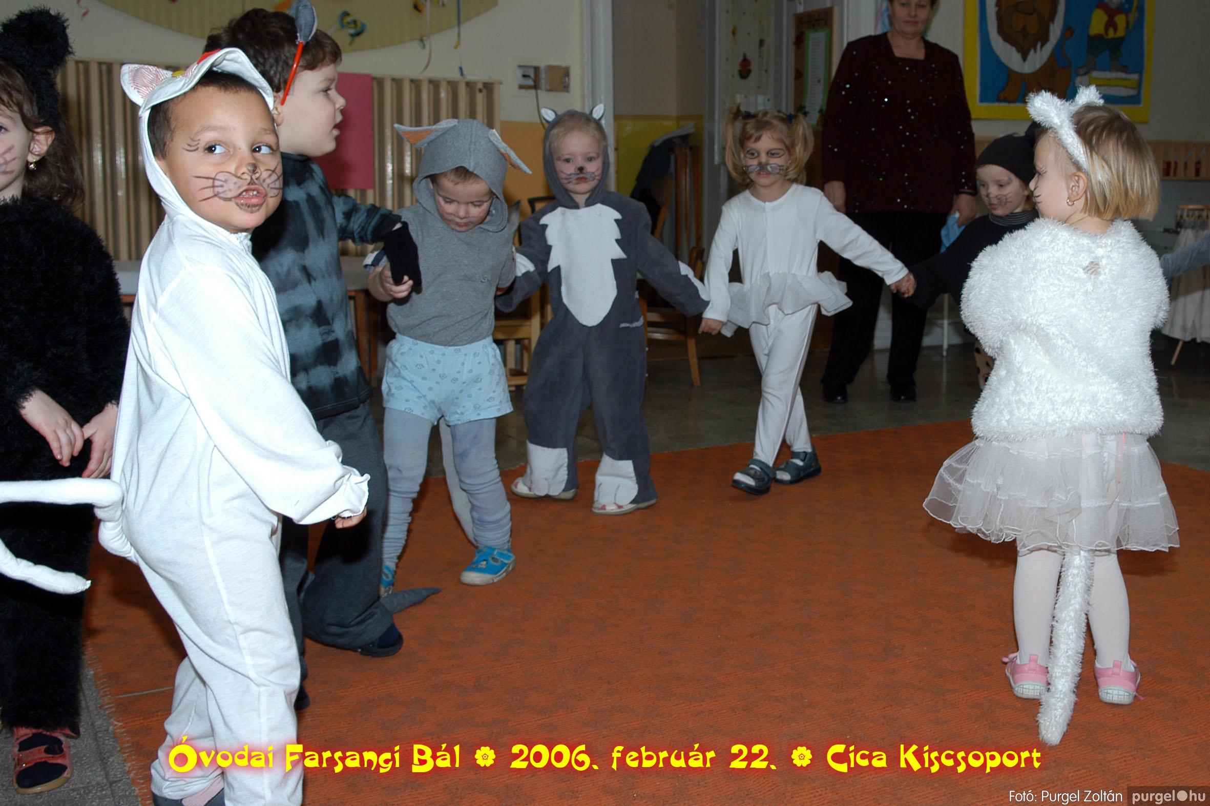 2006.02.22. 024 Kurca-parti Óvoda farsang 2006. - Cica csoport - Fotó:PURGEL ZOLTÁN© 724.jpg