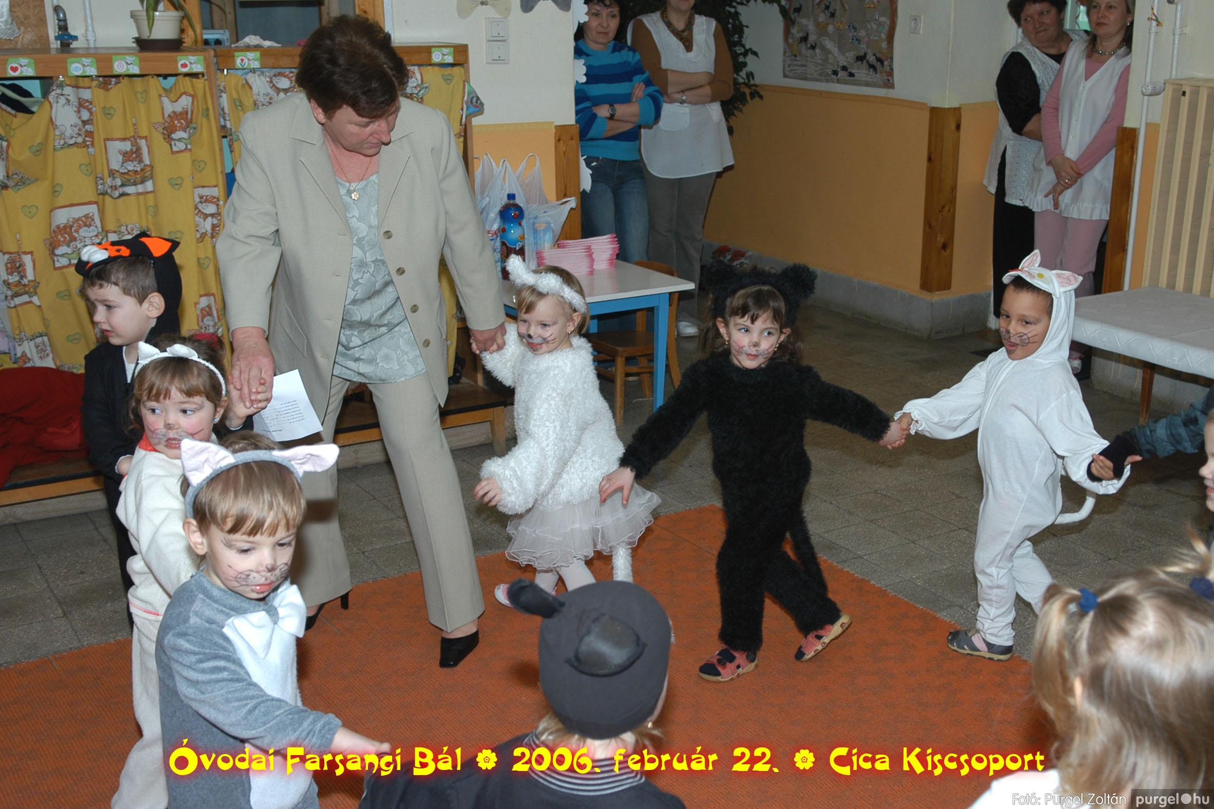 2006.02.22. 007 Kurca-parti Óvoda farsang 2006. - Cica csoport - Fotó:PURGEL ZOLTÁN© 707.jpg