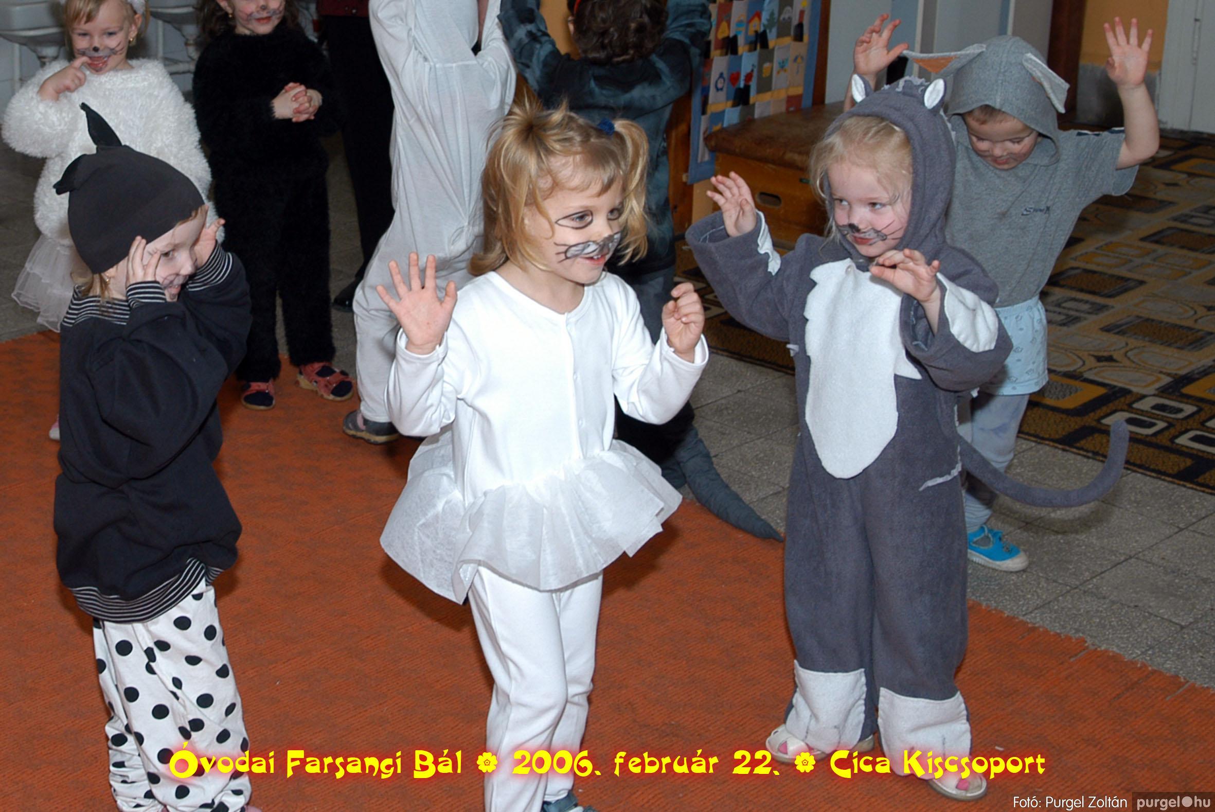 2006.02.22. 004 Kurca-parti Óvoda farsang 2006. - Cica csoport - Fotó:PURGEL ZOLTÁN© 704.jpg