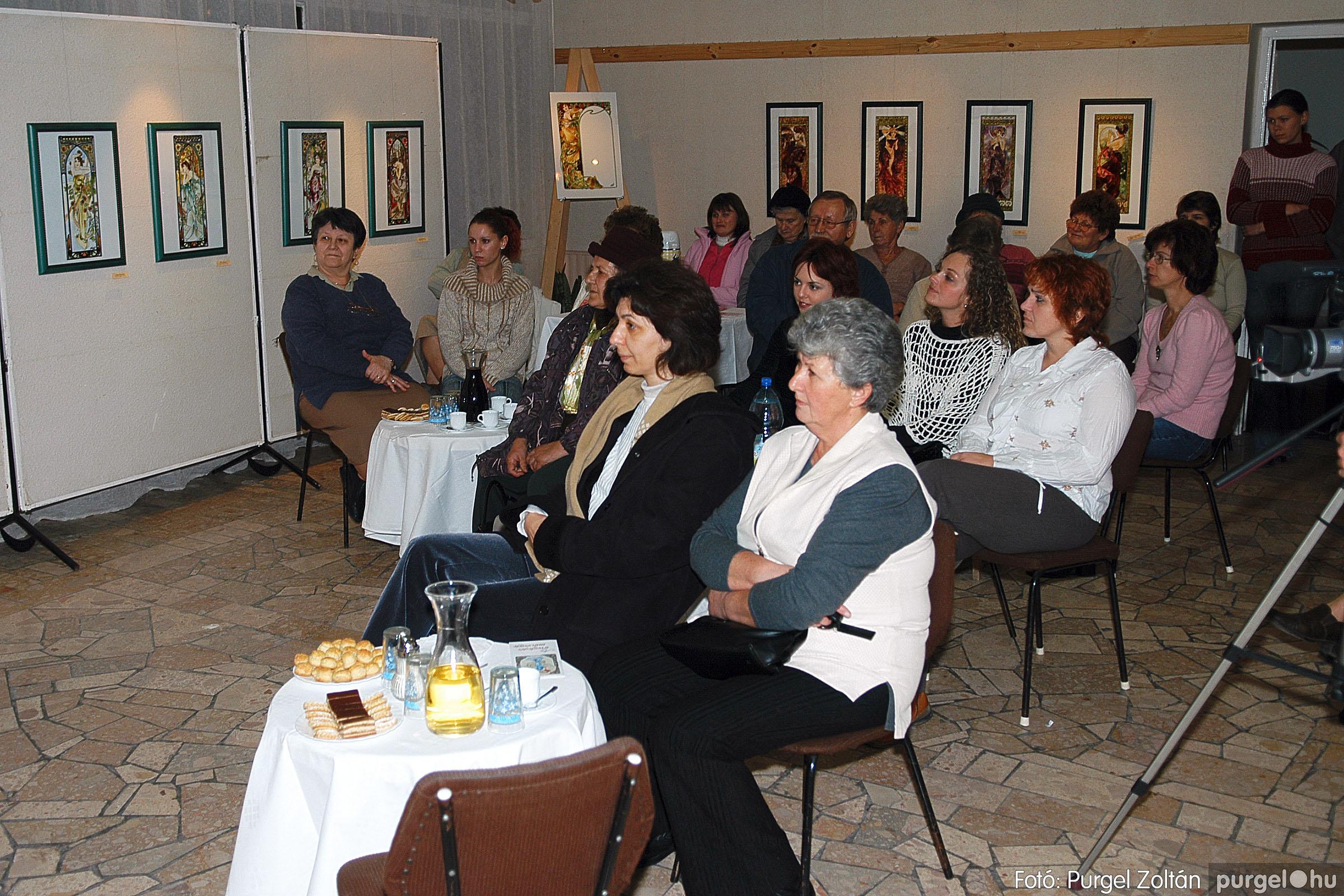 2005.11.28. 003 Prágainé Mágori Aranka kiállítása - Fotó:PURGEL ZOLTÁN© DSC_0004q.jpg