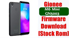 [Flash File] Gionee M6 Mini GN5003 Firmware Download [Stock Rom]