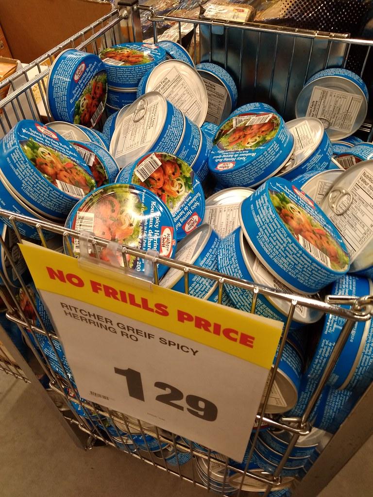 德国产鱼罐头1.29加元