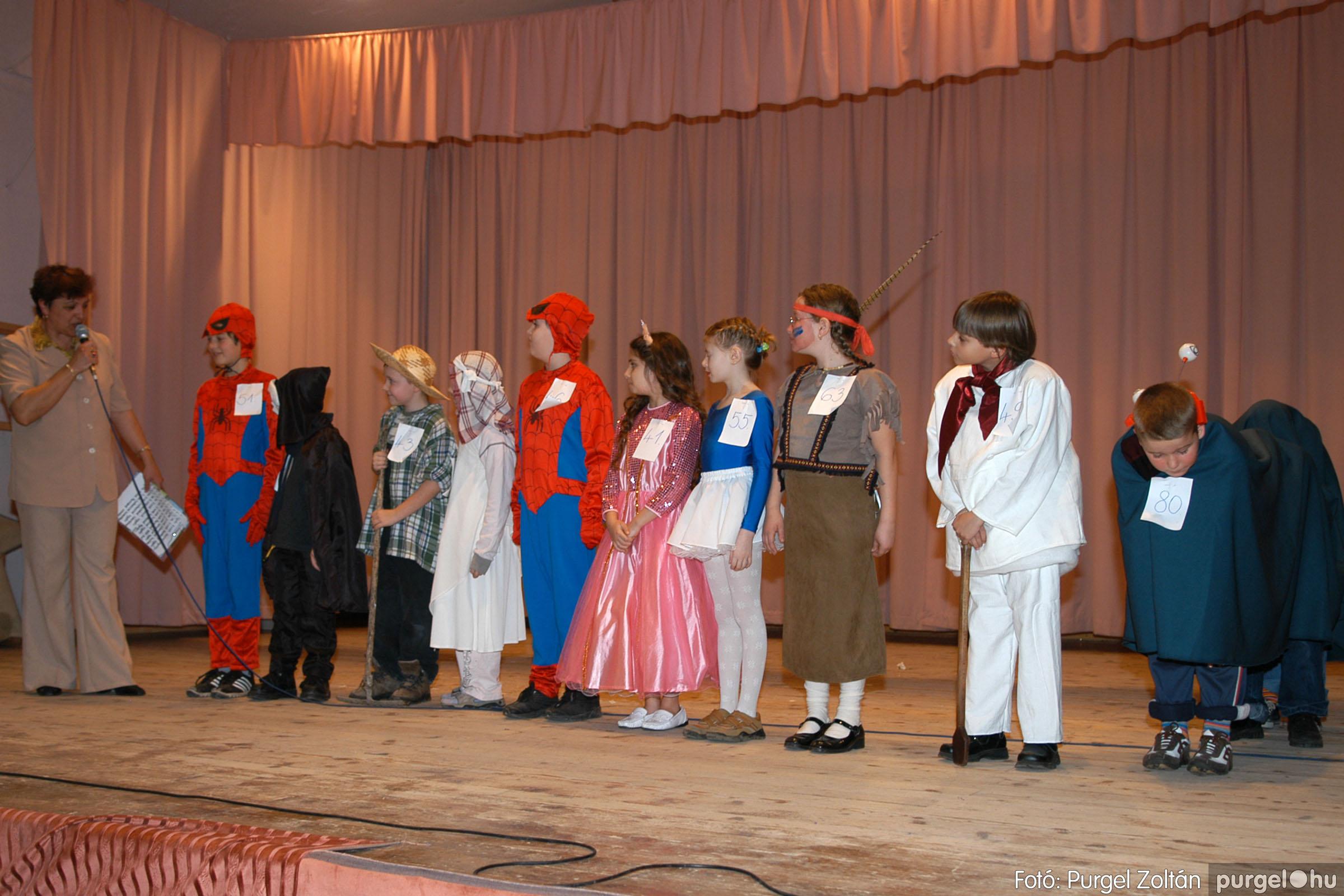 2006.02.18. 087 Forray Máté Általános Iskola farsang 2006. - alsó tagozatosok - Fotó:PURGEL ZOLTÁN© DSC_0110q.jpg
