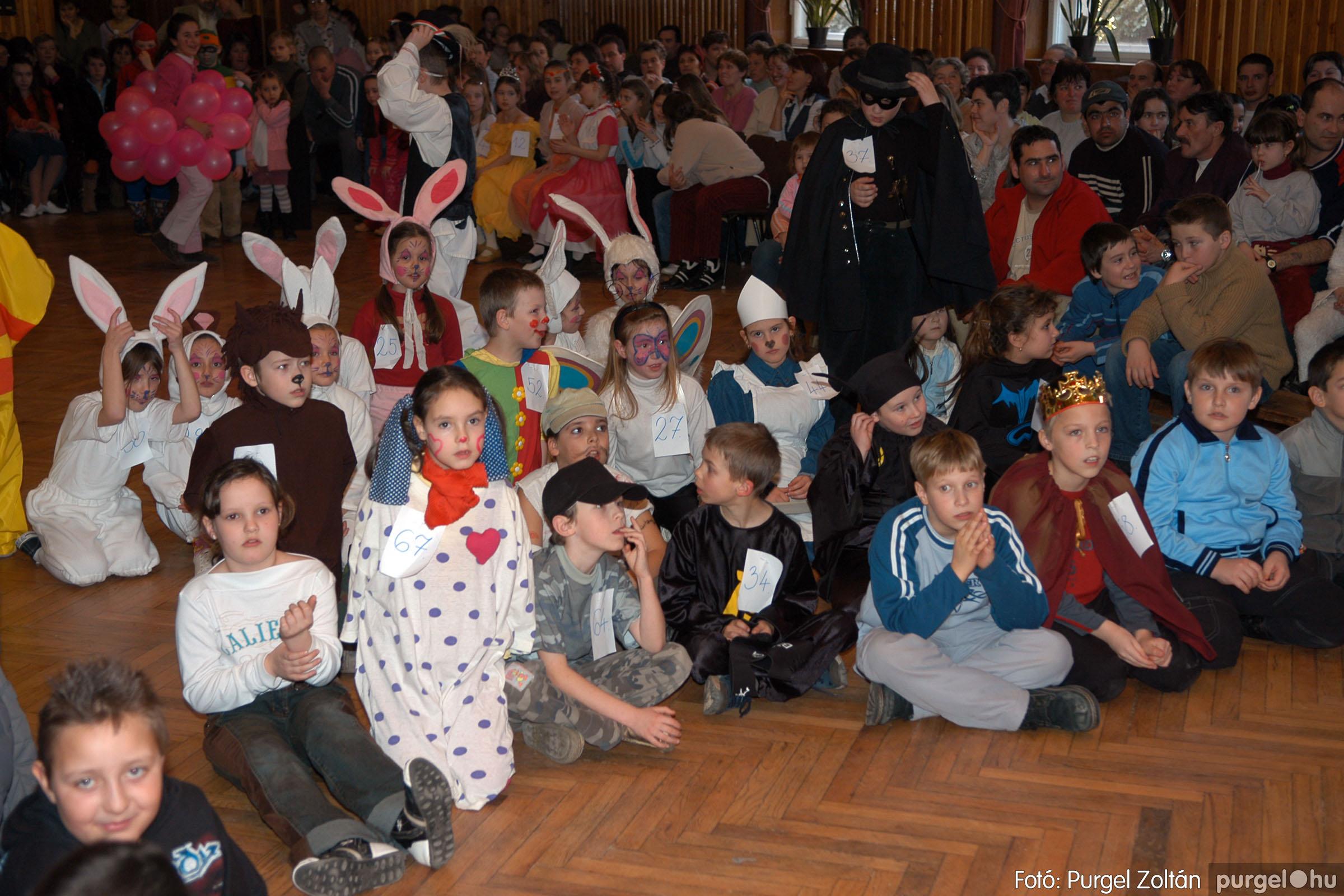 2006.02.18. 073 Forray Máté Általános Iskola farsang 2006. - alsó tagozatosok - Fotó:PURGEL ZOLTÁN© DSC_0095q.jpg