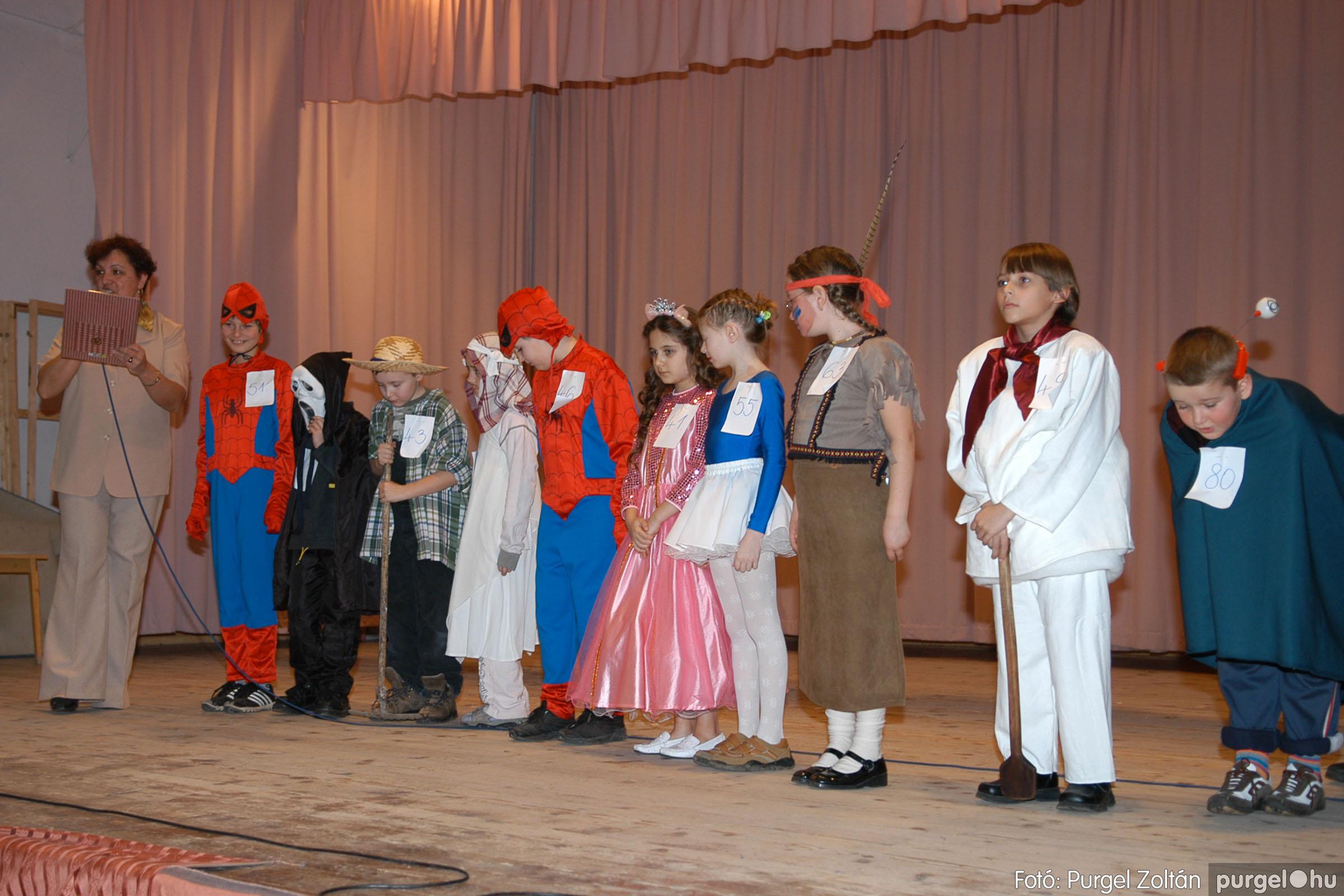 2006.02.18. 085 Forray Máté Általános Iskola farsang 2006. - alsó tagozatosok - Fotó:PURGEL ZOLTÁN© DSC_0108q.jpg