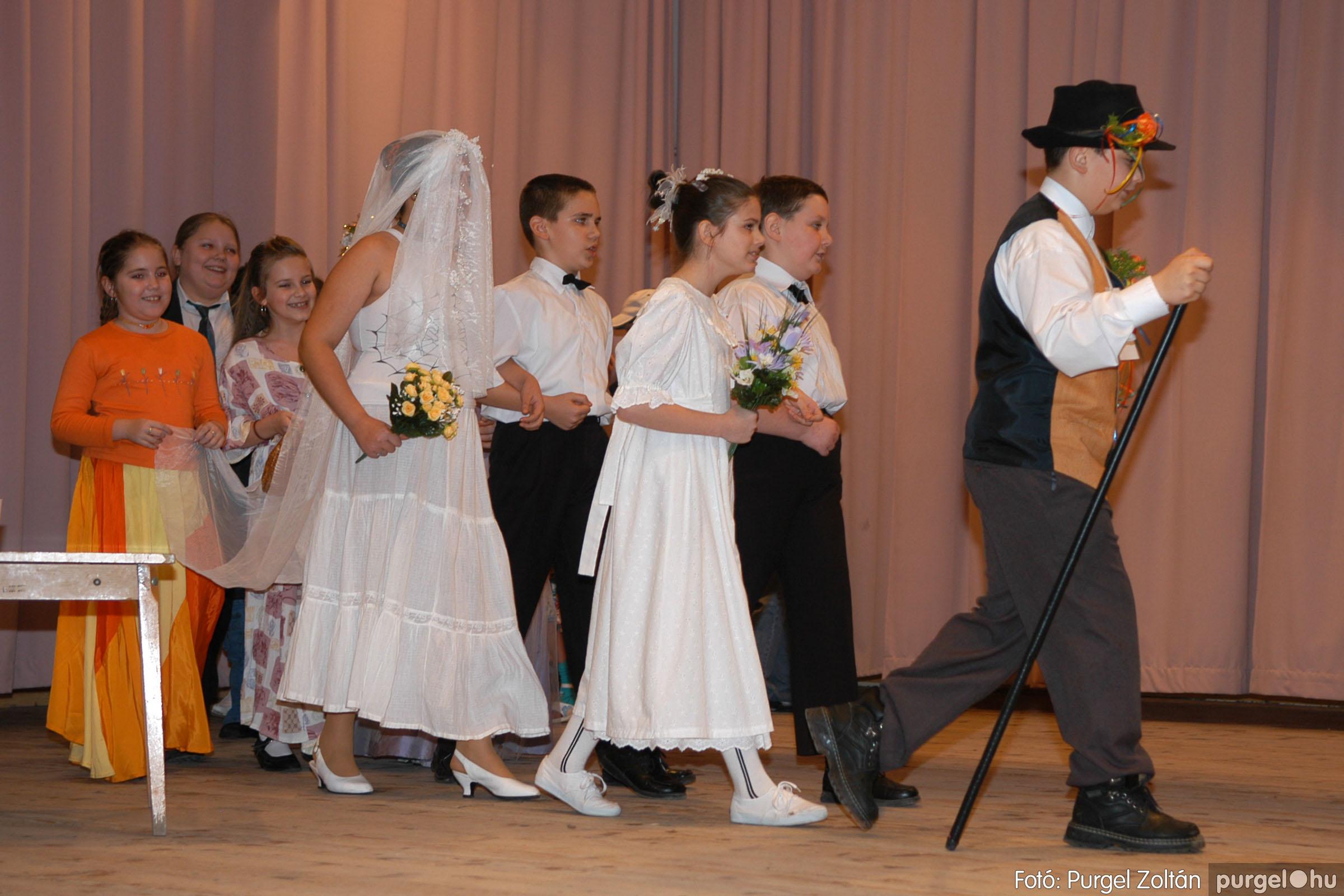 2006.02.18. 076 Forray Máté Általános Iskola farsang 2006. - alsó tagozatosok - Fotó:PURGEL ZOLTÁN© DSC_0098q.jpg