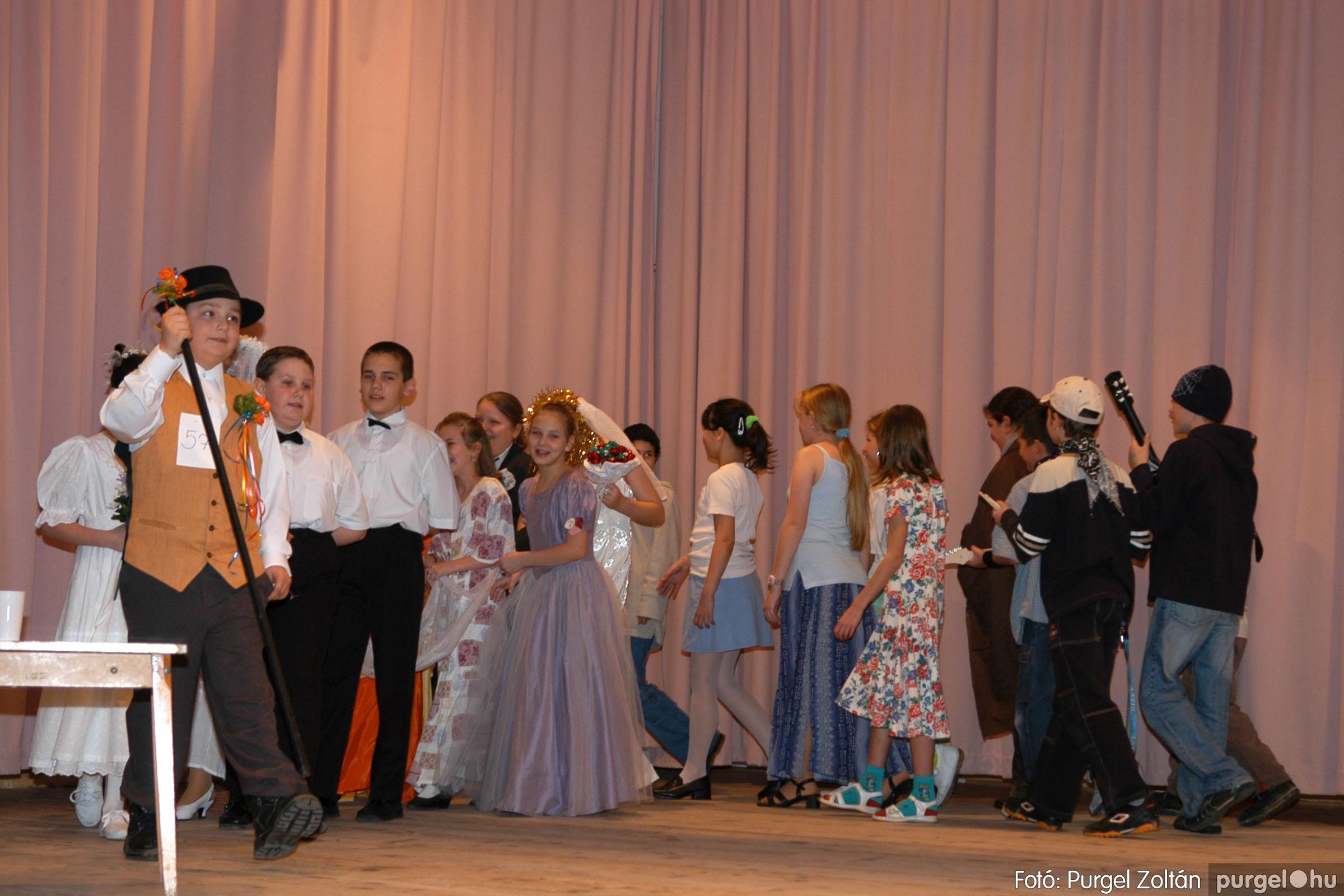 2006.02.18. 075 Forray Máté Általános Iskola farsang 2006. - alsó tagozatosok - Fotó:PURGEL ZOLTÁN© DSC_0097q.jpg