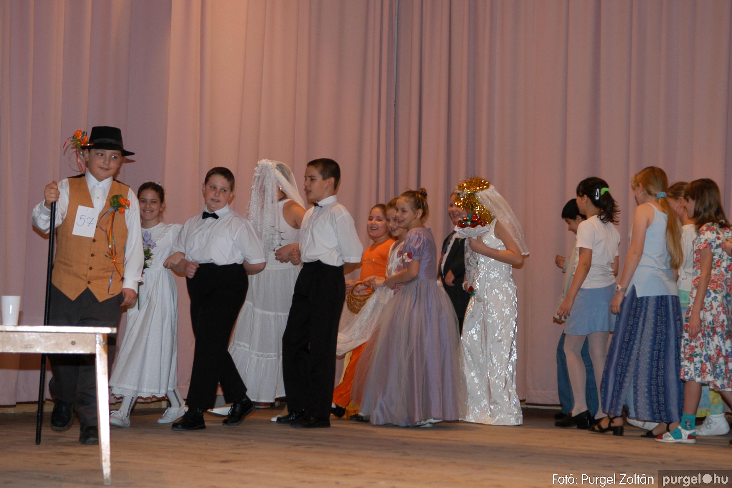 2006.02.18. 074 Forray Máté Általános Iskola farsang 2006. - alsó tagozatosok - Fotó:PURGEL ZOLTÁN© DSC_0096q.jpg