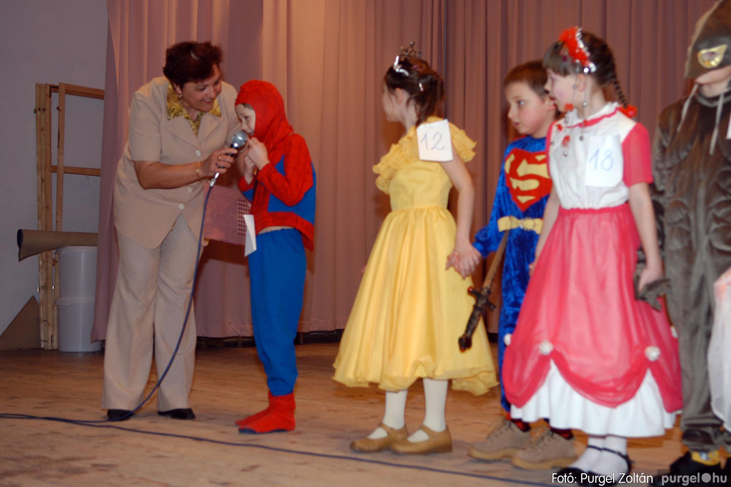 2006.02.18. 040 Forray Máté Általános Iskola farsang 2006. - alsó tagozatosok - Fotó:PURGEL ZOLTÁN© DSC_0057q.jpg