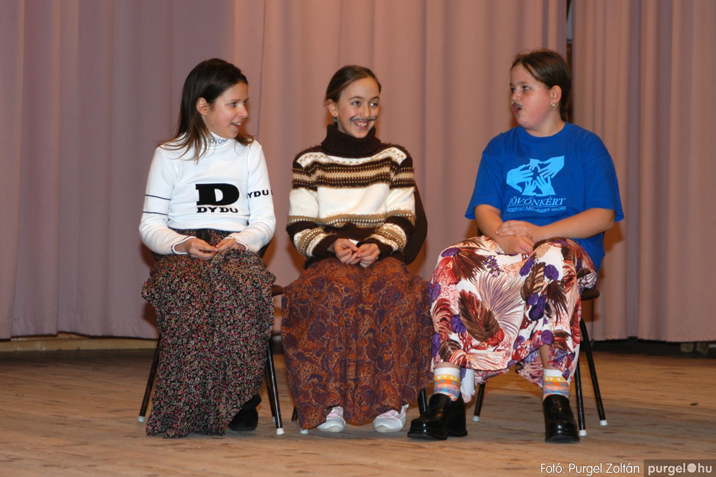 2006.02.17. 020 Forray Máté Általános Iskola farsang 2006. - felső tagozatosok - Fotó:PURGEL ZOLTÁN© DSC_0025q.jpg