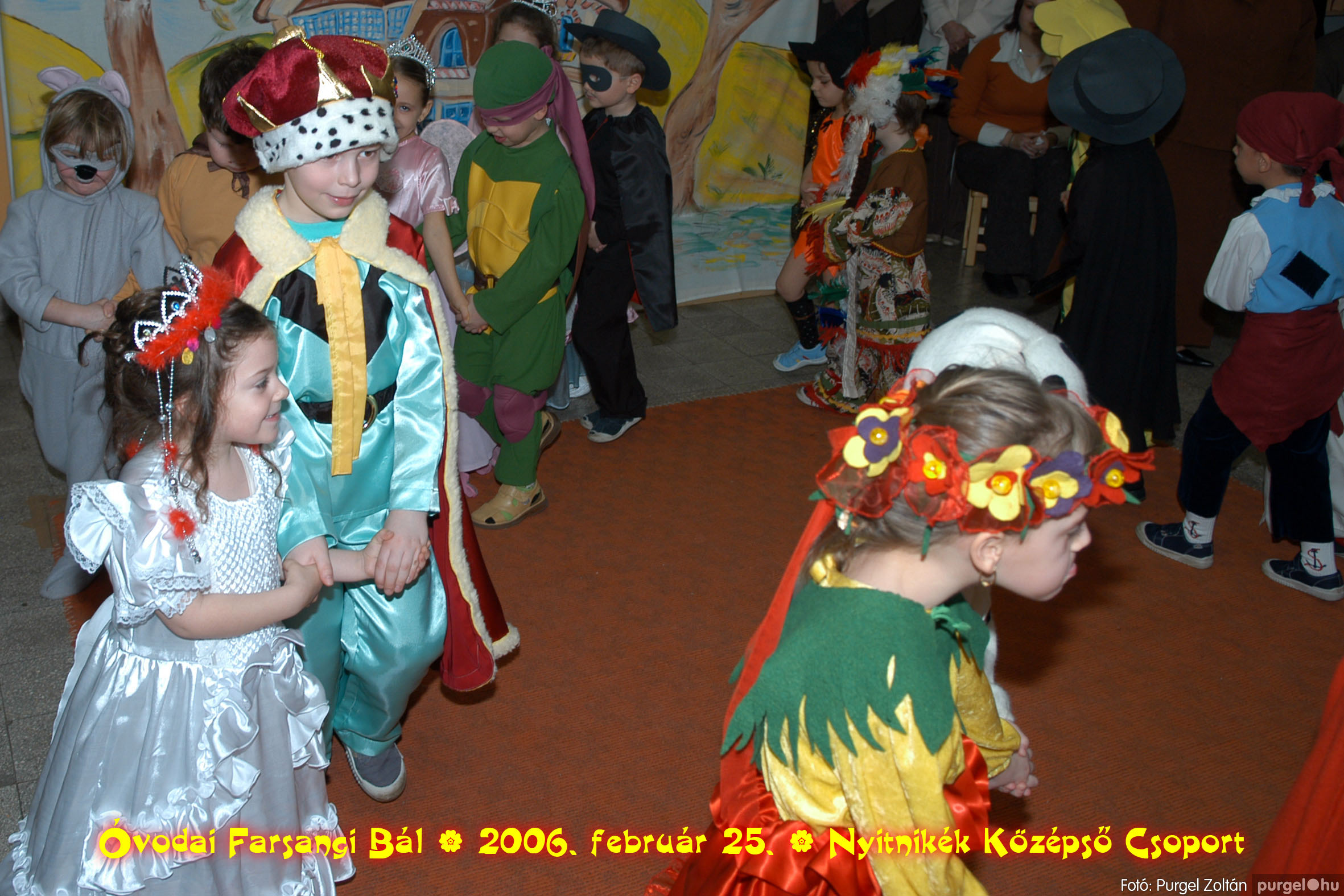 2006.02.25. 171 Kurca-parti Óvoda farsang 2006. - Nyitnikék csoport - Fotó:PURGEL ZOLTÁN©.jpg