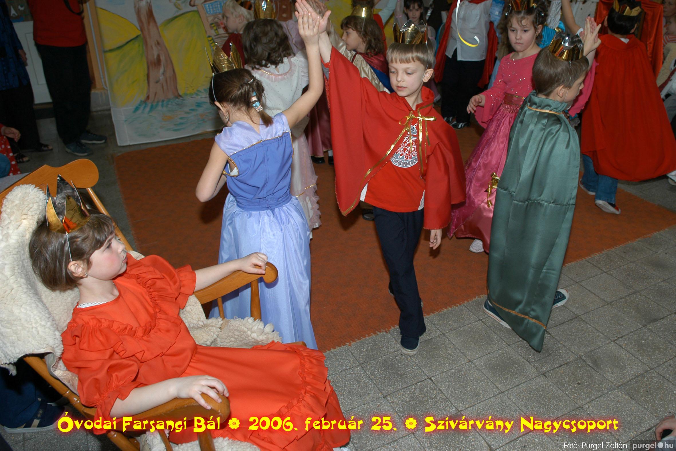2006.02.25. 155 Kurca-parti Óvoda farsang 2006. - Szivárvány csoport - Fotó:PURGEL ZOLTÁN©.jpg