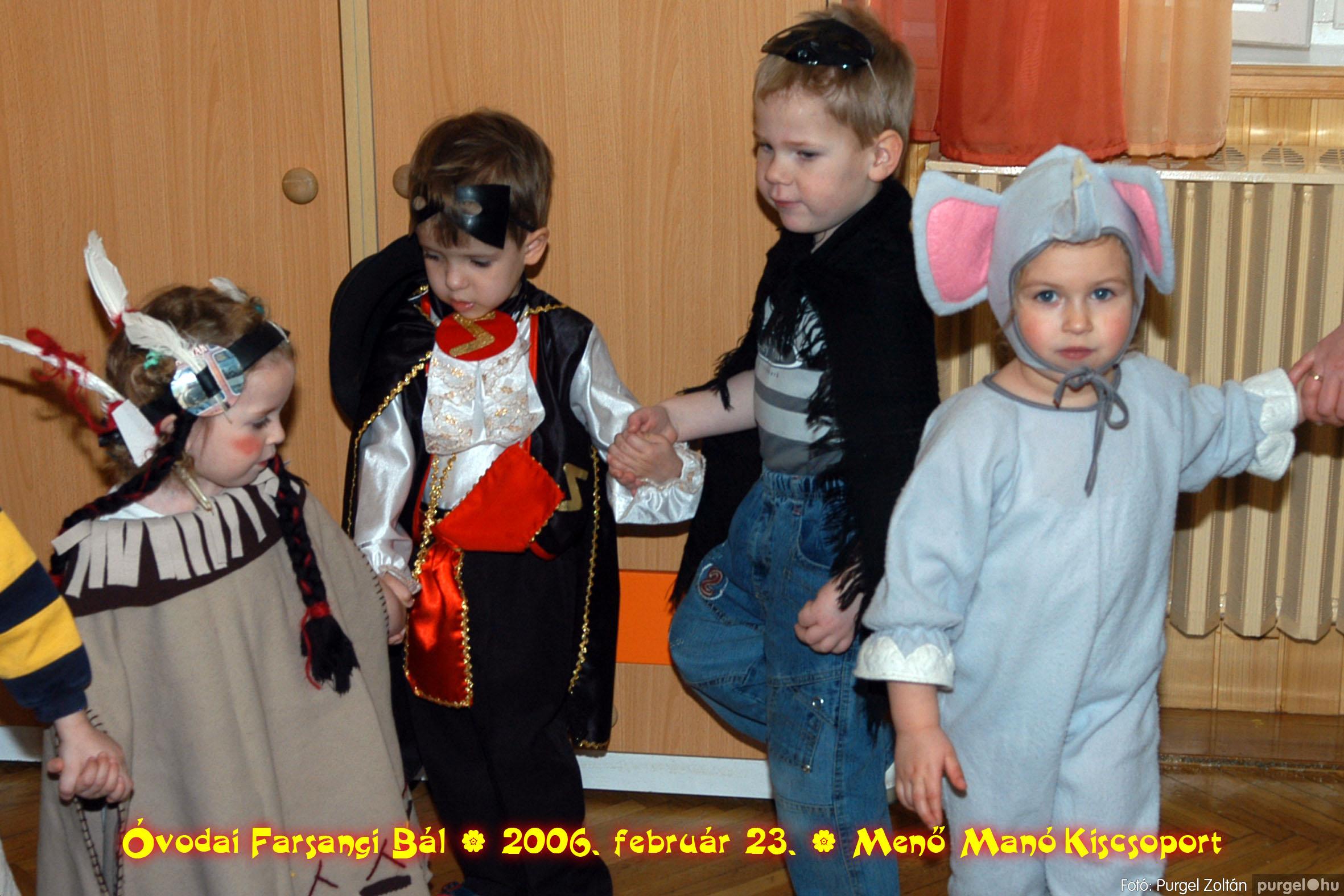 2006.02.23. 037 Kurca-parti Óvoda farsang 2006. - Menő-Manó csoport - Fotó:PURGEL ZOLTÁN©.jpg