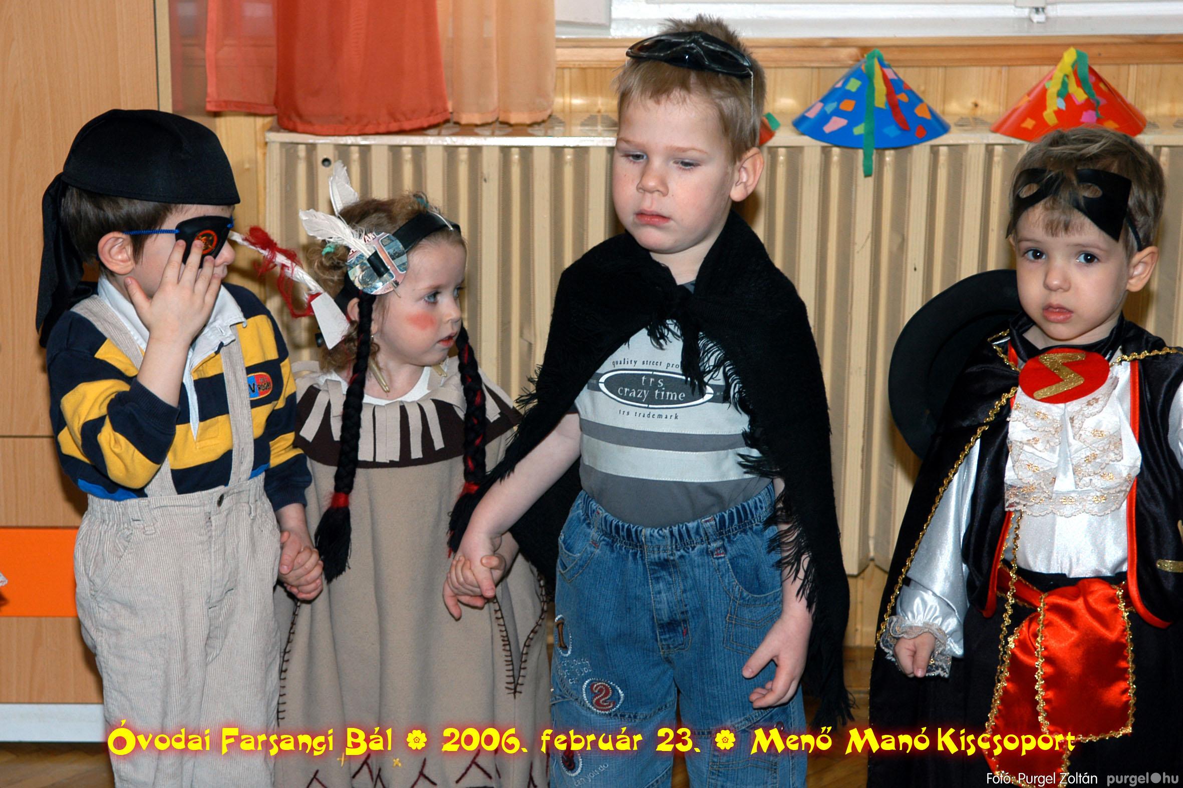 2006.02.23. 031 Kurca-parti Óvoda farsang 2006. - Menő-Manó csoport - Fotó:PURGEL ZOLTÁN©.jpg