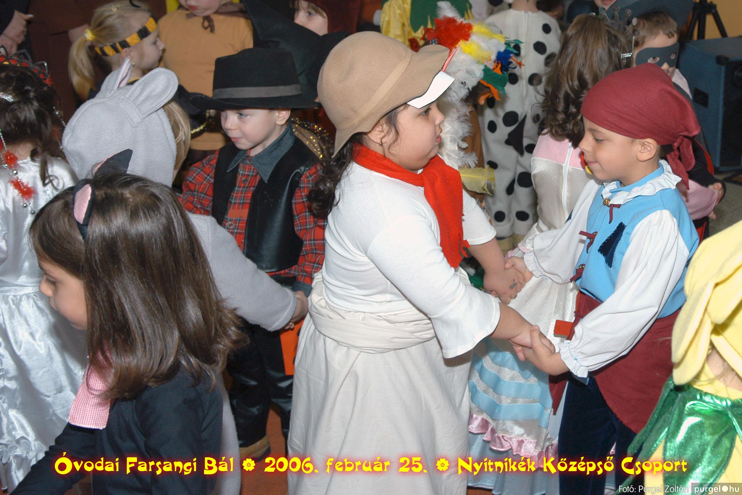 2006.02.25. 196 Kurca-parti Óvoda farsang 2006. - Nyitnikék csoport - Fotó:PURGEL ZOLTÁN©.jpg