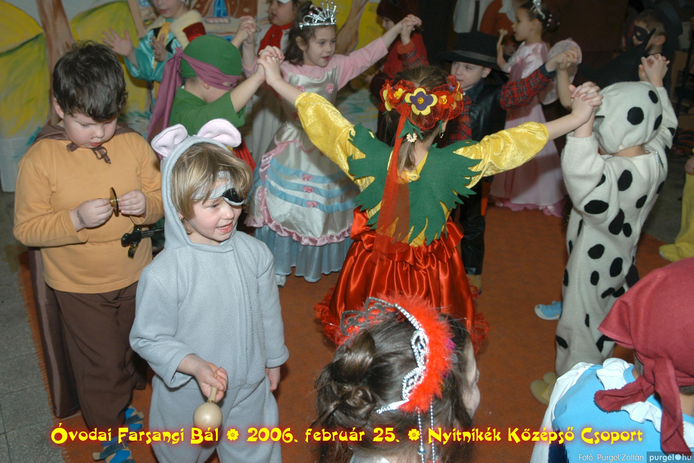 2006.02.25. 186 Kurca-parti Óvoda farsang 2006. - Nyitnikék csoport - Fotó:PURGEL ZOLTÁN©.jpg