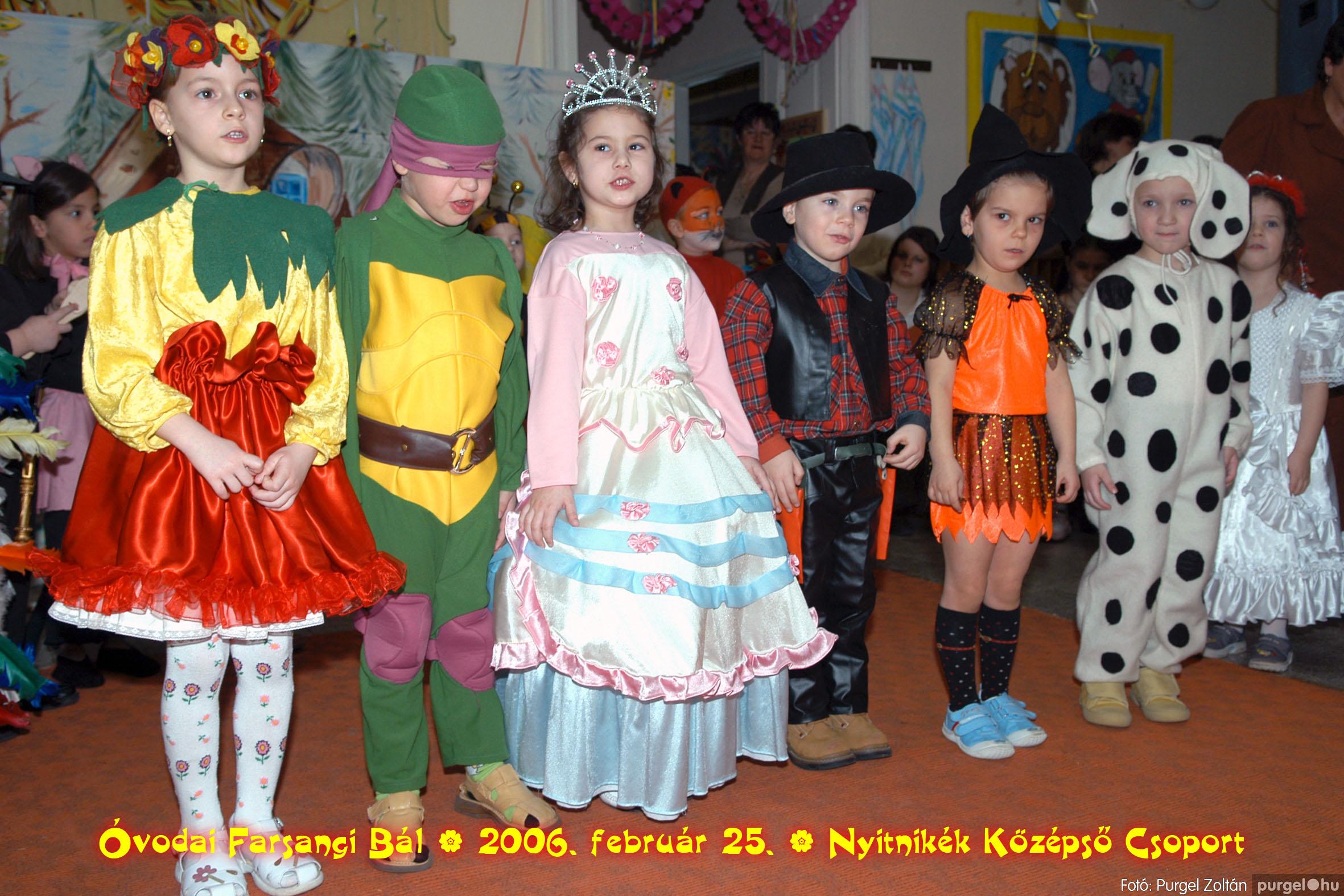 2006.02.25. 185 Kurca-parti Óvoda farsang 2006. - Nyitnikék csoport - Fotó:PURGEL ZOLTÁN©.jpg