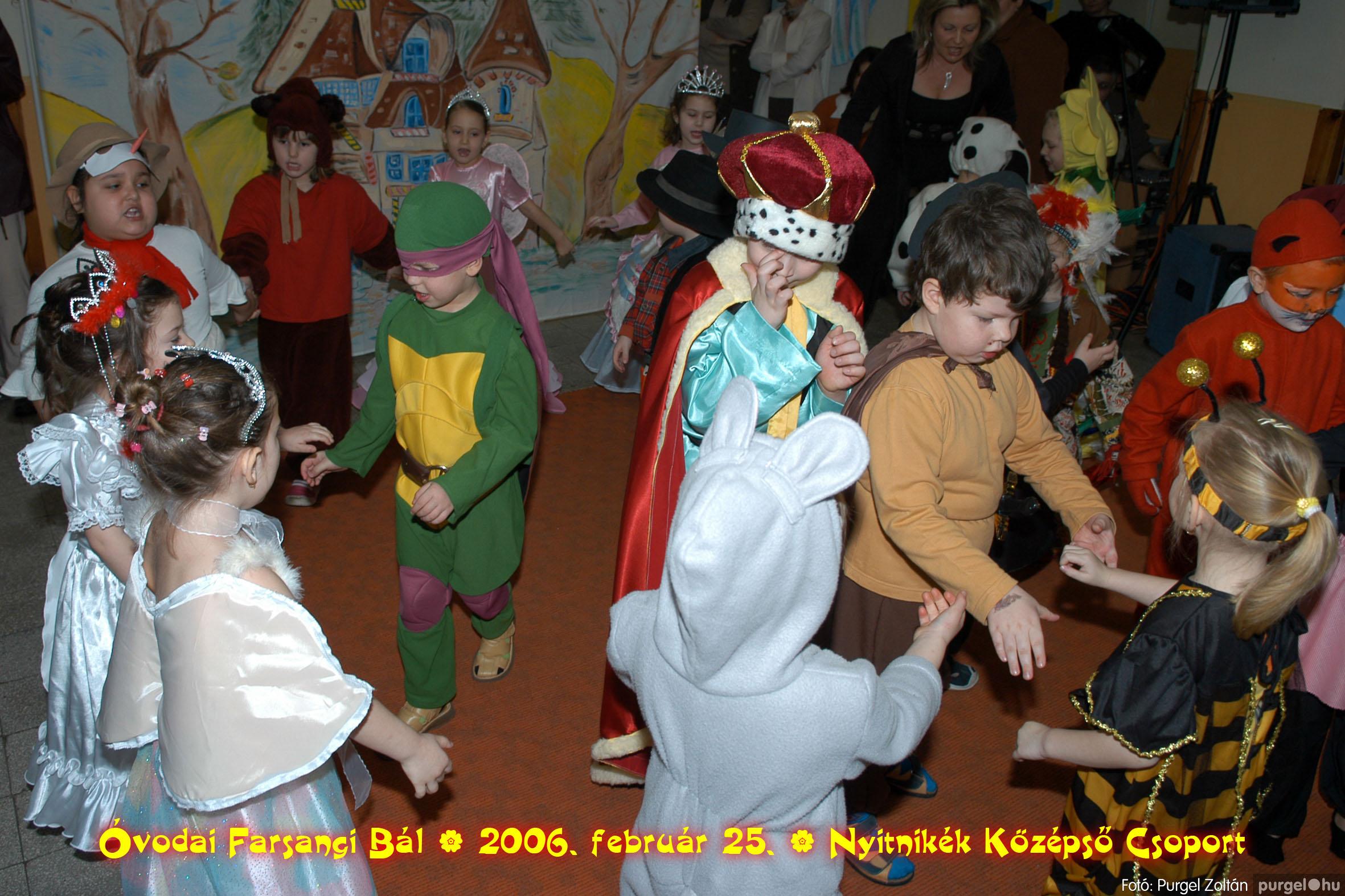 2006.02.25. 188 Kurca-parti Óvoda farsang 2006. - Nyitnikék csoport - Fotó:PURGEL ZOLTÁN©.jpg