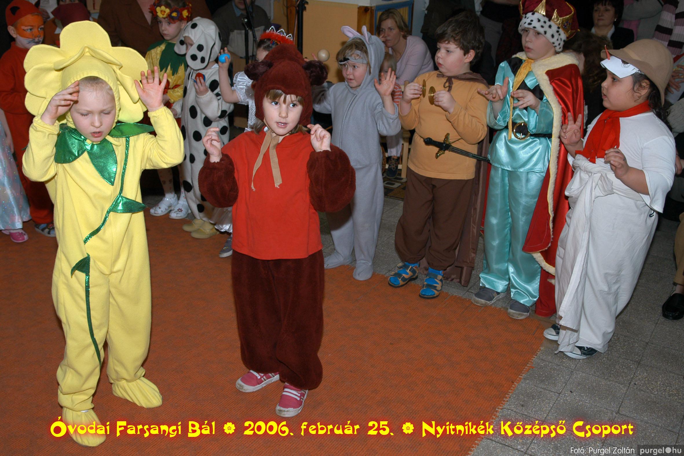 2006.02.25. 182 Kurca-parti Óvoda farsang 2006. - Nyitnikék csoport - Fotó:PURGEL ZOLTÁN©.jpg