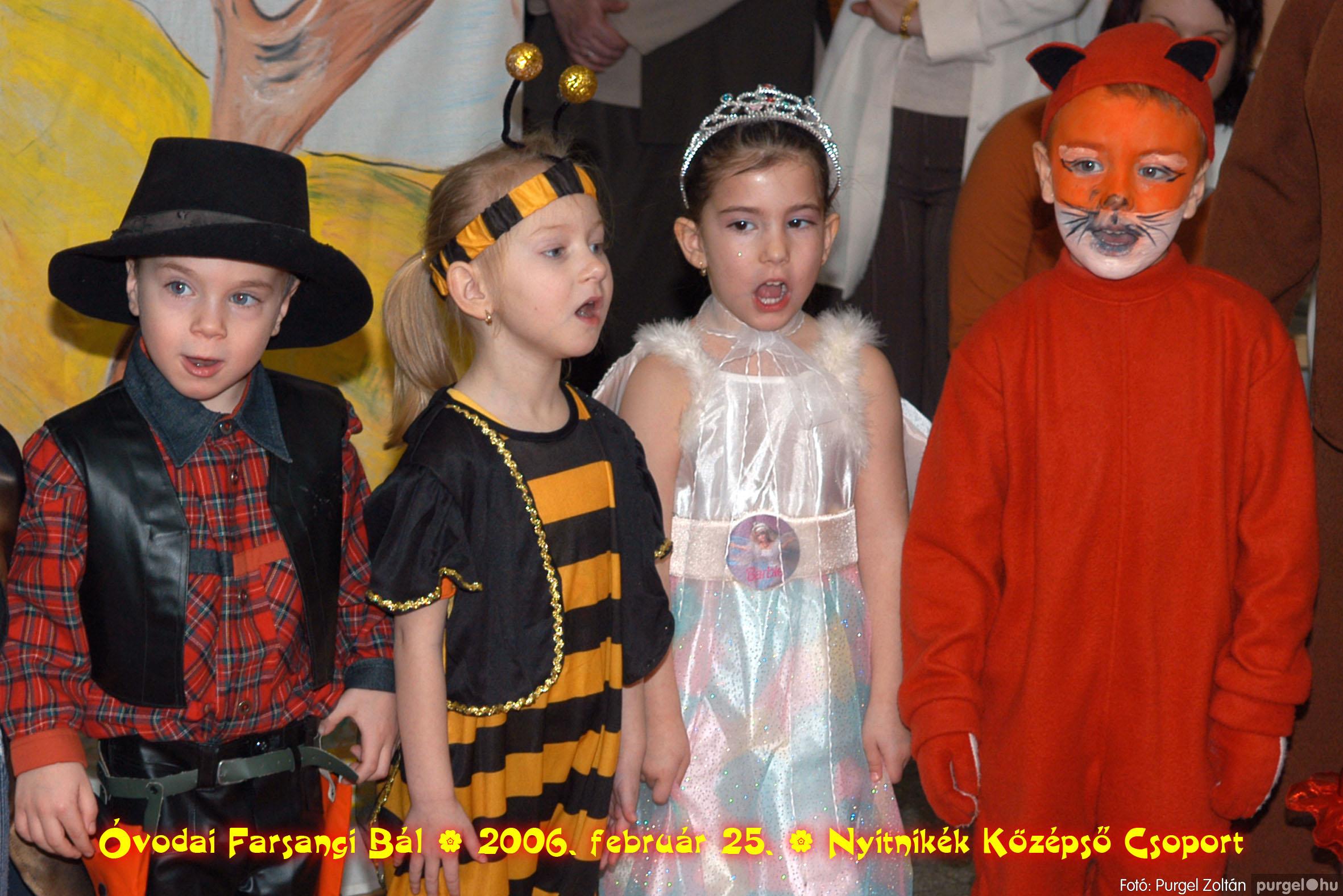 2006.02.25. 176 Kurca-parti Óvoda farsang 2006. - Nyitnikék csoport - Fotó:PURGEL ZOLTÁN©.jpg