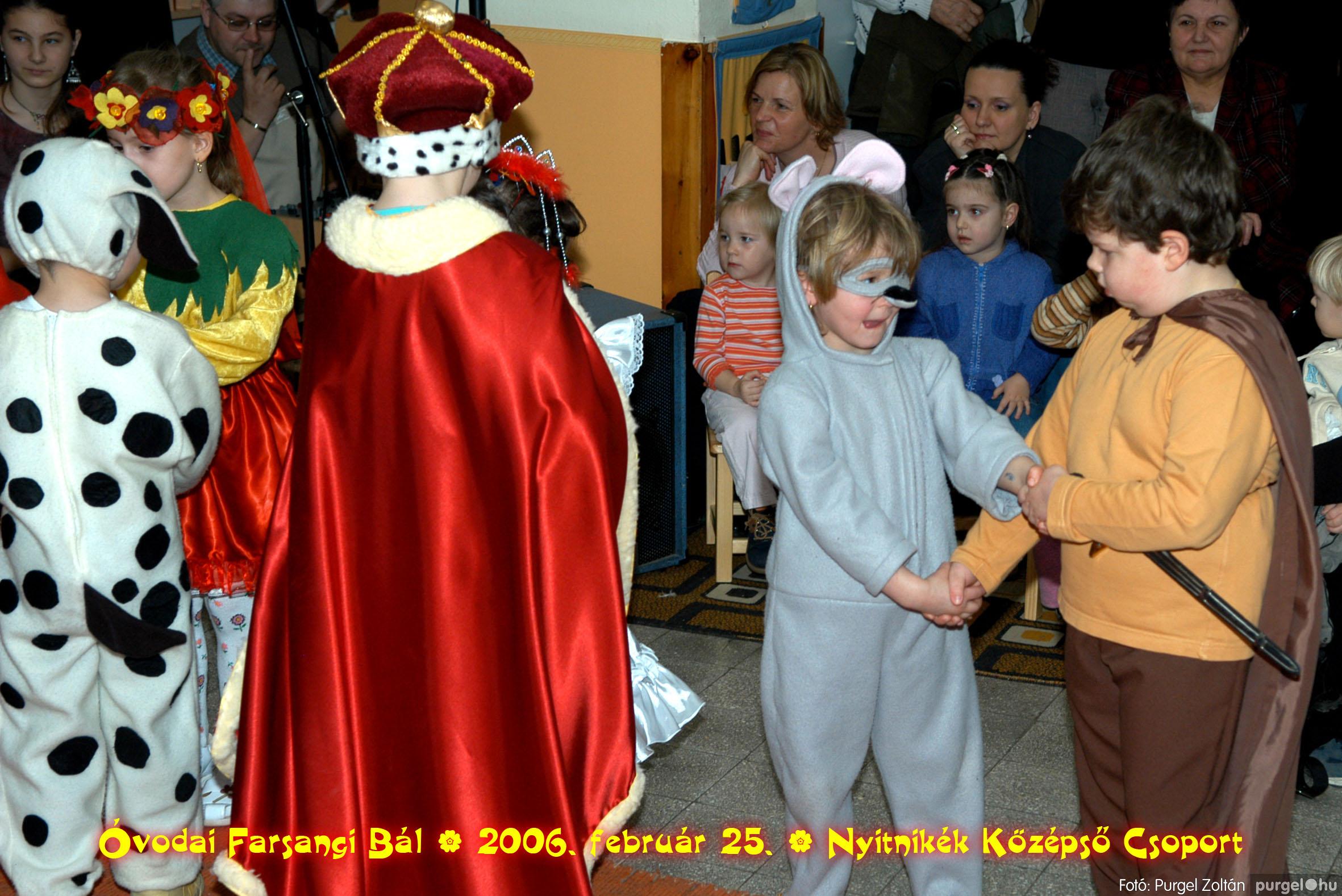 2006.02.25. 172 Kurca-parti Óvoda farsang 2006. - Nyitnikék csoport - Fotó:PURGEL ZOLTÁN©.jpg