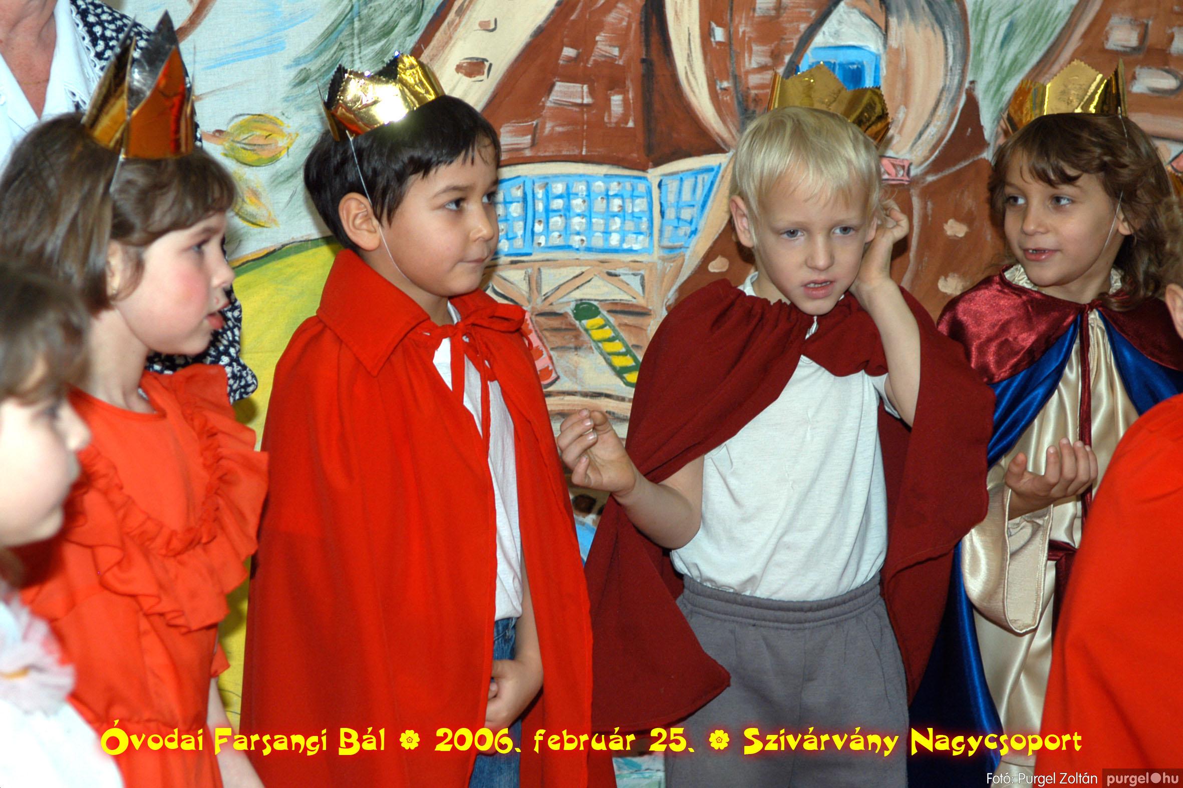 2006.02.25. 169 Kurca-parti Óvoda farsang 2006. - Szivárvány csoport - Fotó:PURGEL ZOLTÁN©.jpg