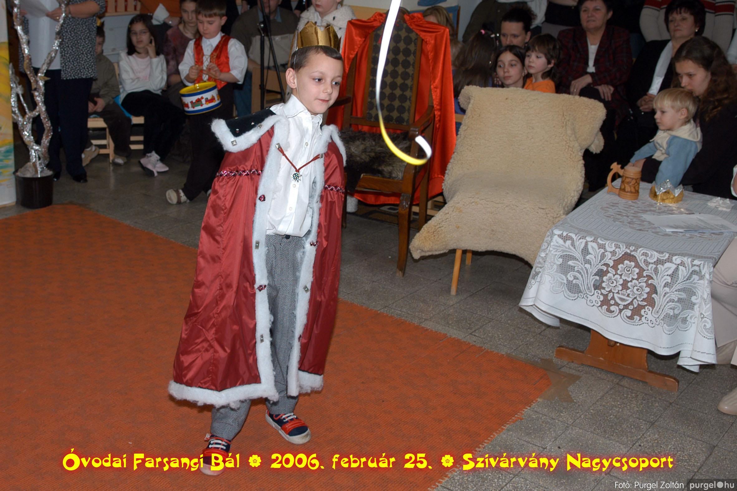 2006.02.25. 158 Kurca-parti Óvoda farsang 2006. - Szivárvány csoport - Fotó:PURGEL ZOLTÁN©.jpg