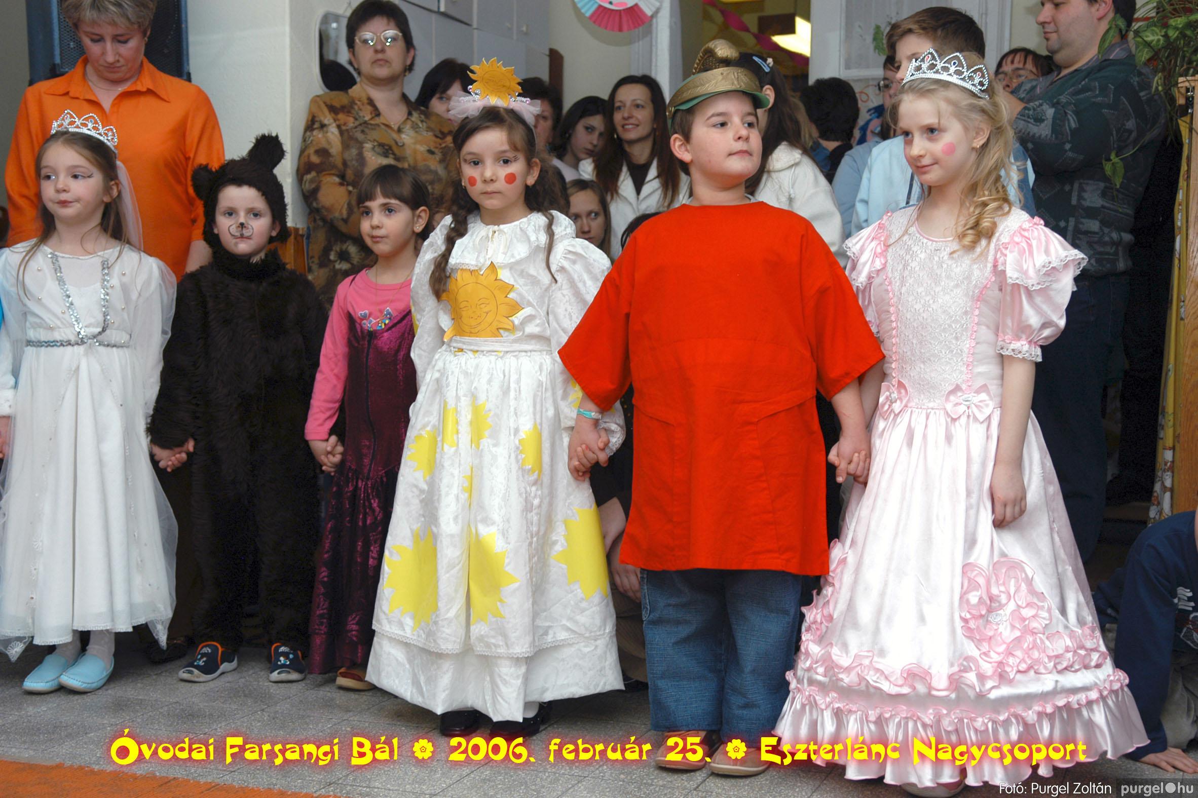 2006.02.25. 098 Kurca-parti Óvoda farsang 2006. - Eszterlánc csoport - Fotó:PURGEL ZOLTÁN©.jpg