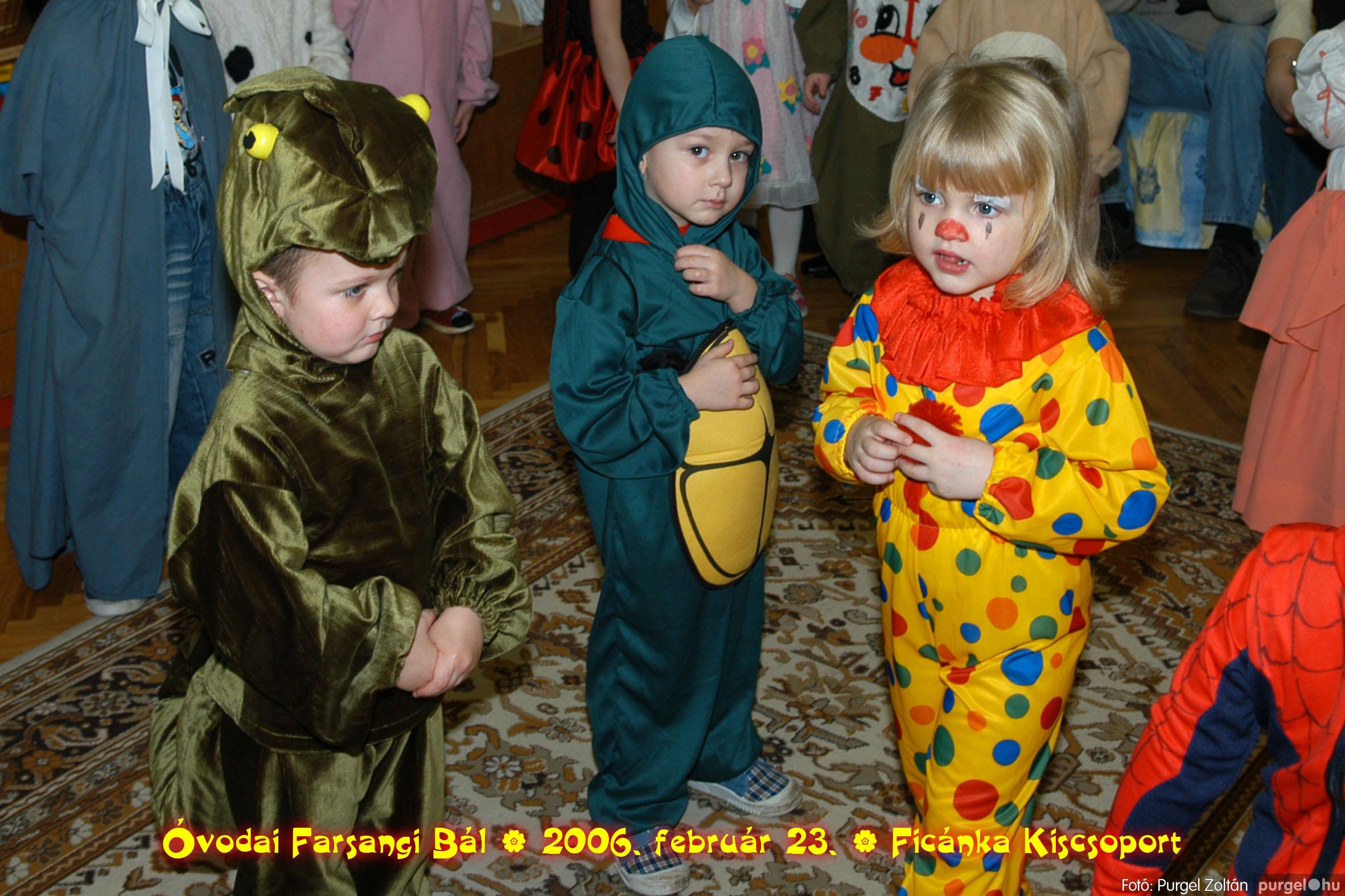 2006.02.23. 096 Kurca-parti Óvoda farsang 2006. - Ficánka csoport - Fotó:PURGEL ZOLTÁN© .jpg