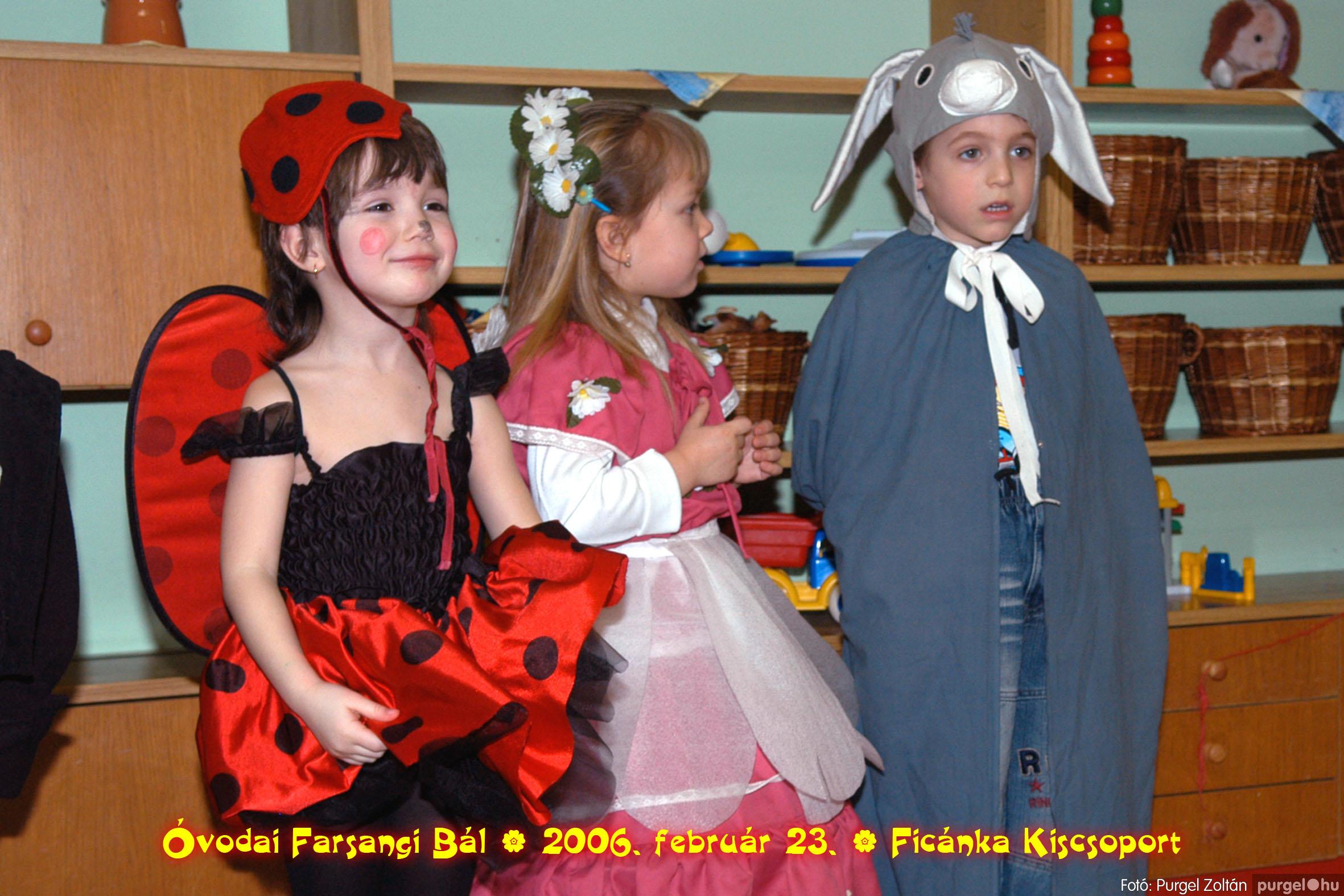 2006.02.23. 095 Kurca-parti Óvoda farsang 2006. - Ficánka csoport - Fotó:PURGEL ZOLTÁN© .jpg