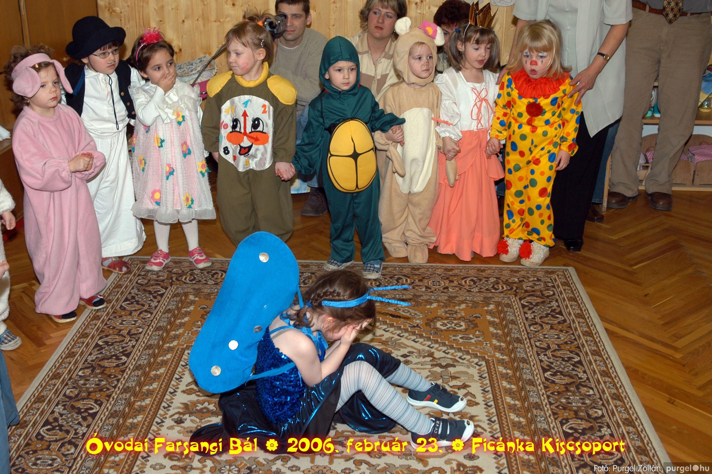2006.02.23. 089 Kurca-parti Óvoda farsang 2006. - Ficánka csoport - Fotó:PURGEL ZOLTÁN© .jpg