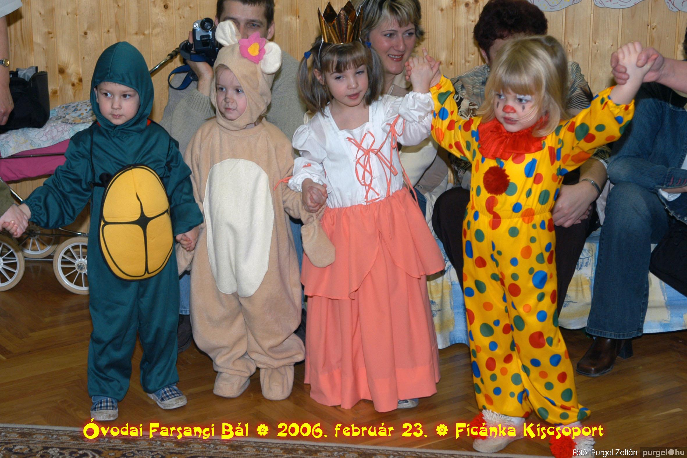 2006.02.23. 087 Kurca-parti Óvoda farsang 2006. - Ficánka csoport - Fotó:PURGEL ZOLTÁN© .jpg