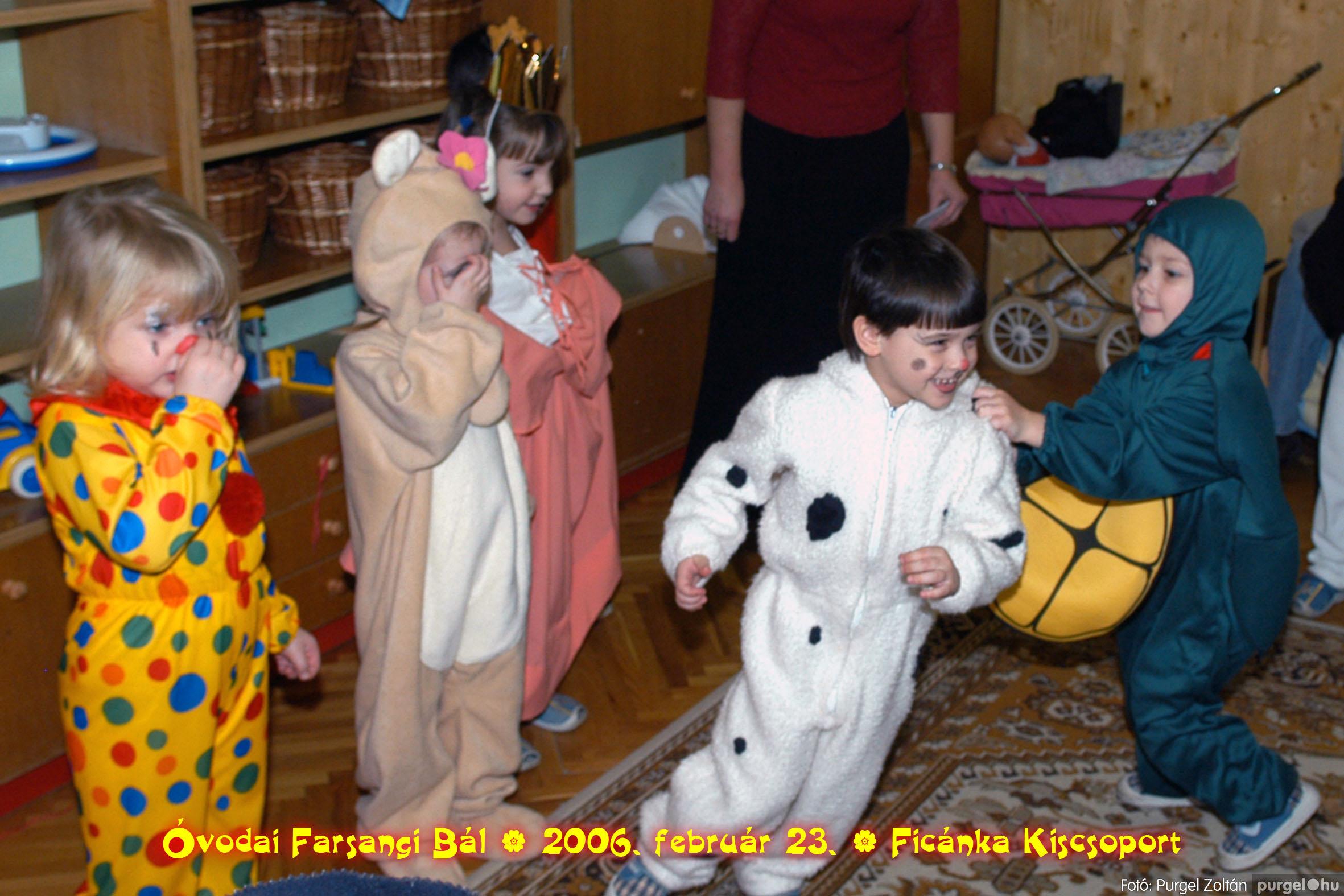 2006.02.23. 082 Kurca-parti Óvoda farsang 2006. - Ficánka csoport - Fotó:PURGEL ZOLTÁN© .jpg