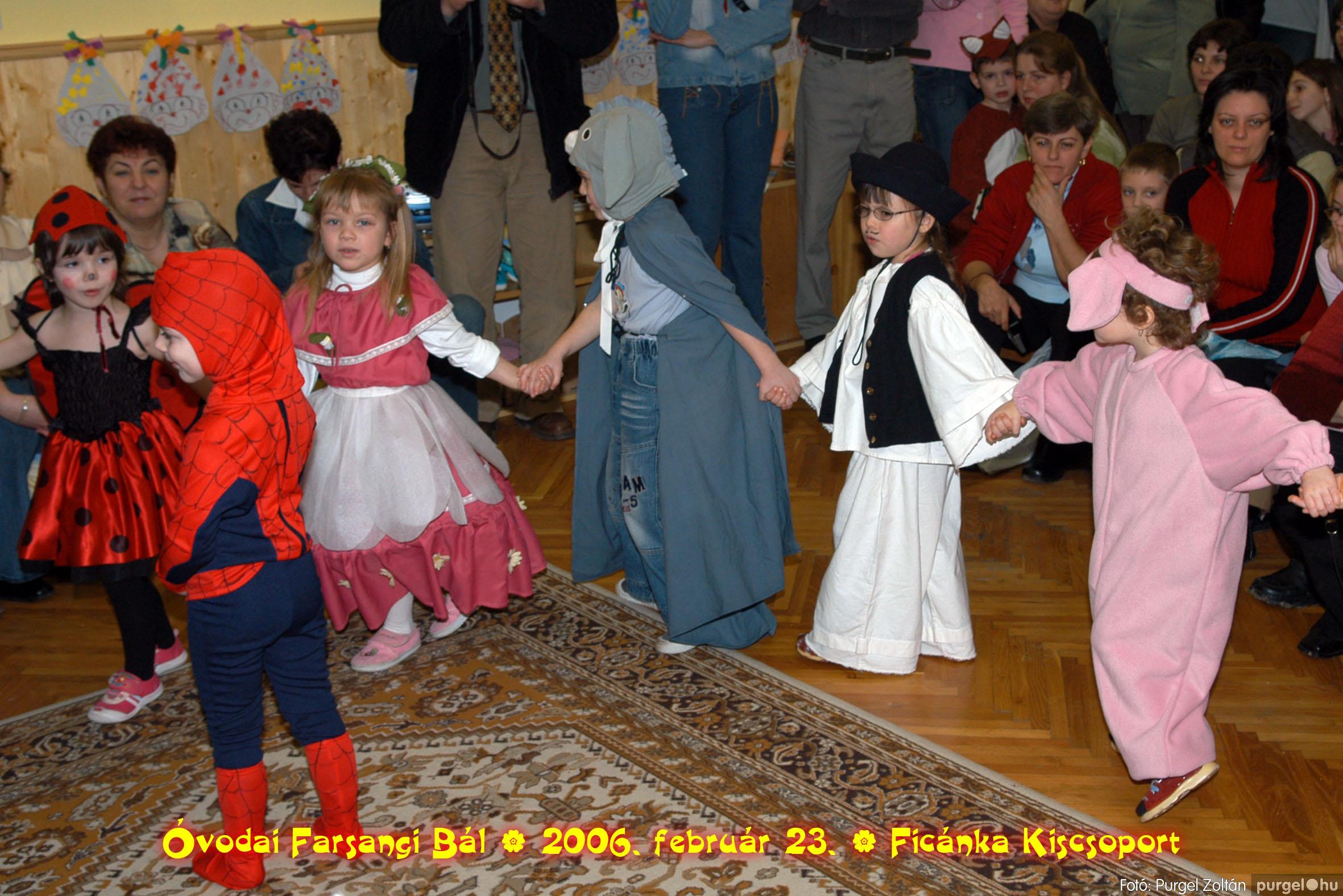 2006.02.23. 078 Kurca-parti Óvoda farsang 2006. - Ficánka csoport - Fotó:PURGEL ZOLTÁN© .jpg
