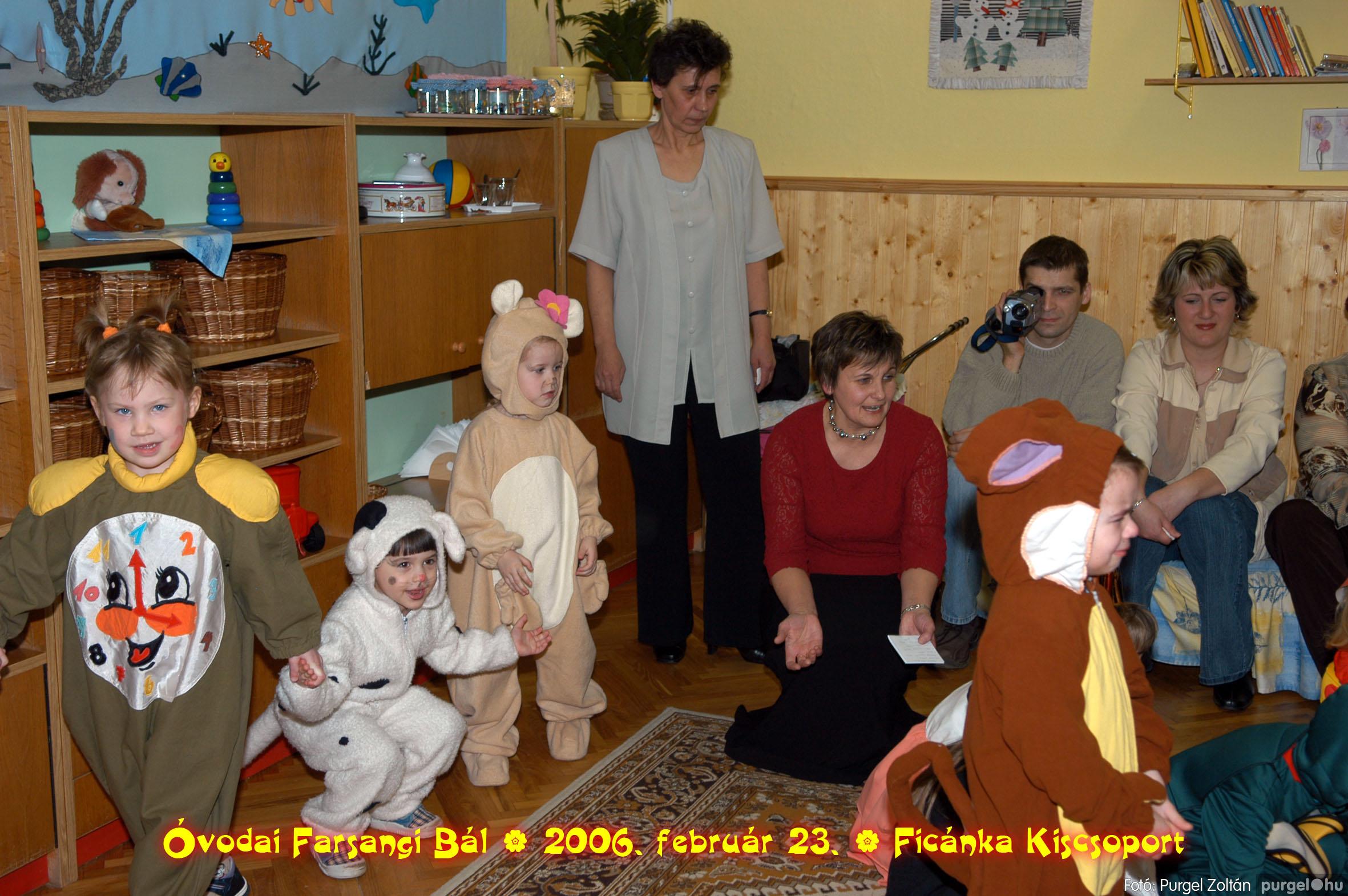 2006.02.23. 076 Kurca-parti Óvoda farsang 2006. - Ficánka csoport - Fotó:PURGEL ZOLTÁN© .jpg