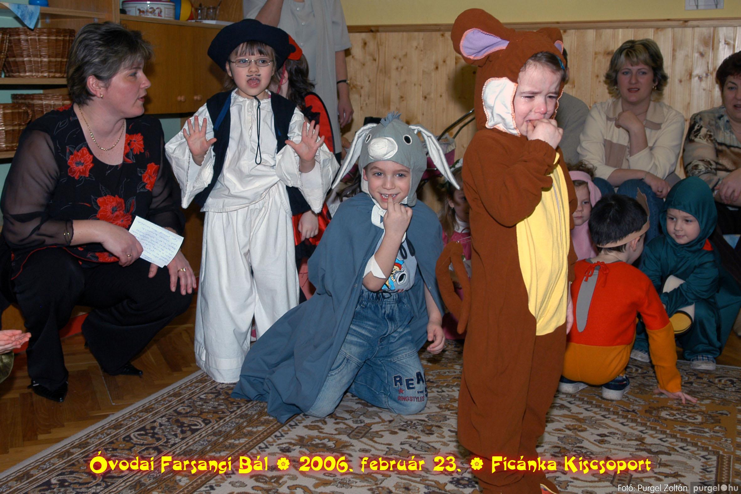 2006.02.23. 074 Kurca-parti Óvoda farsang 2006. - Ficánka csoport - Fotó:PURGEL ZOLTÁN© .jpg