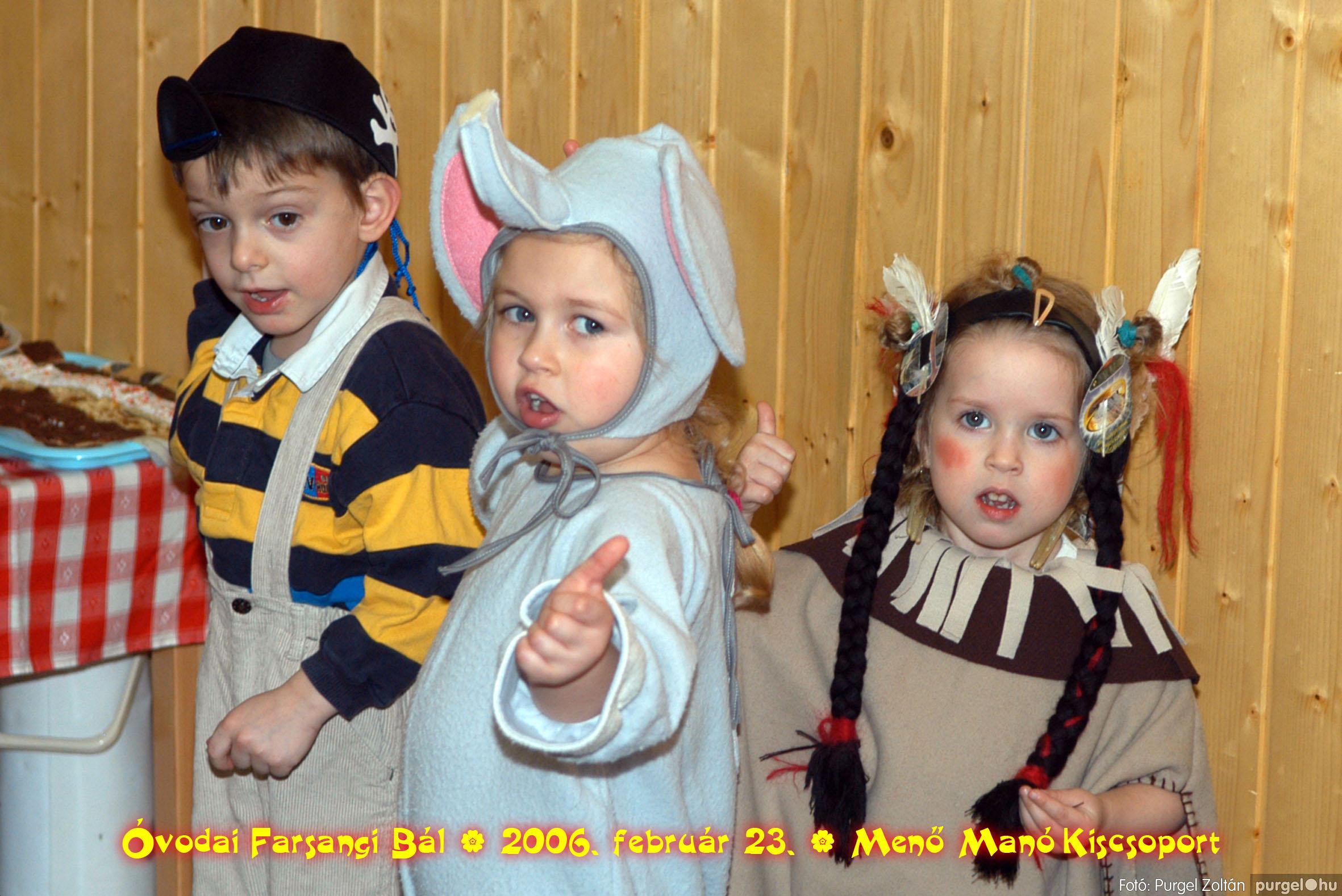 2006.02.23. 056 Kurca-parti Óvoda farsang 2006. - Menő-Manó csoport - Fotó:PURGEL ZOLTÁN©.jpg