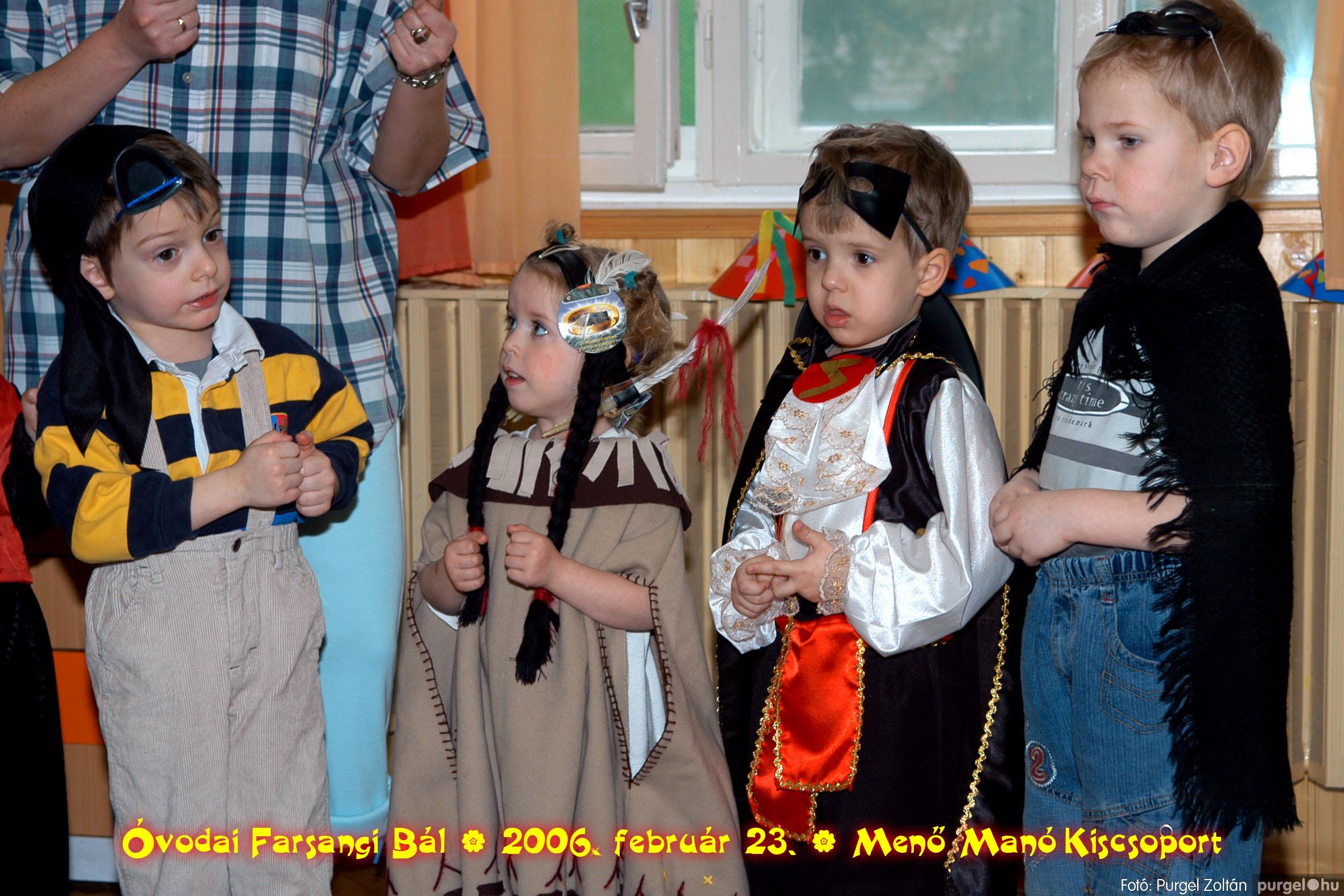 2006.02.23. 053 Kurca-parti Óvoda farsang 2006. - Menő-Manó csoport - Fotó:PURGEL ZOLTÁN©.jpg