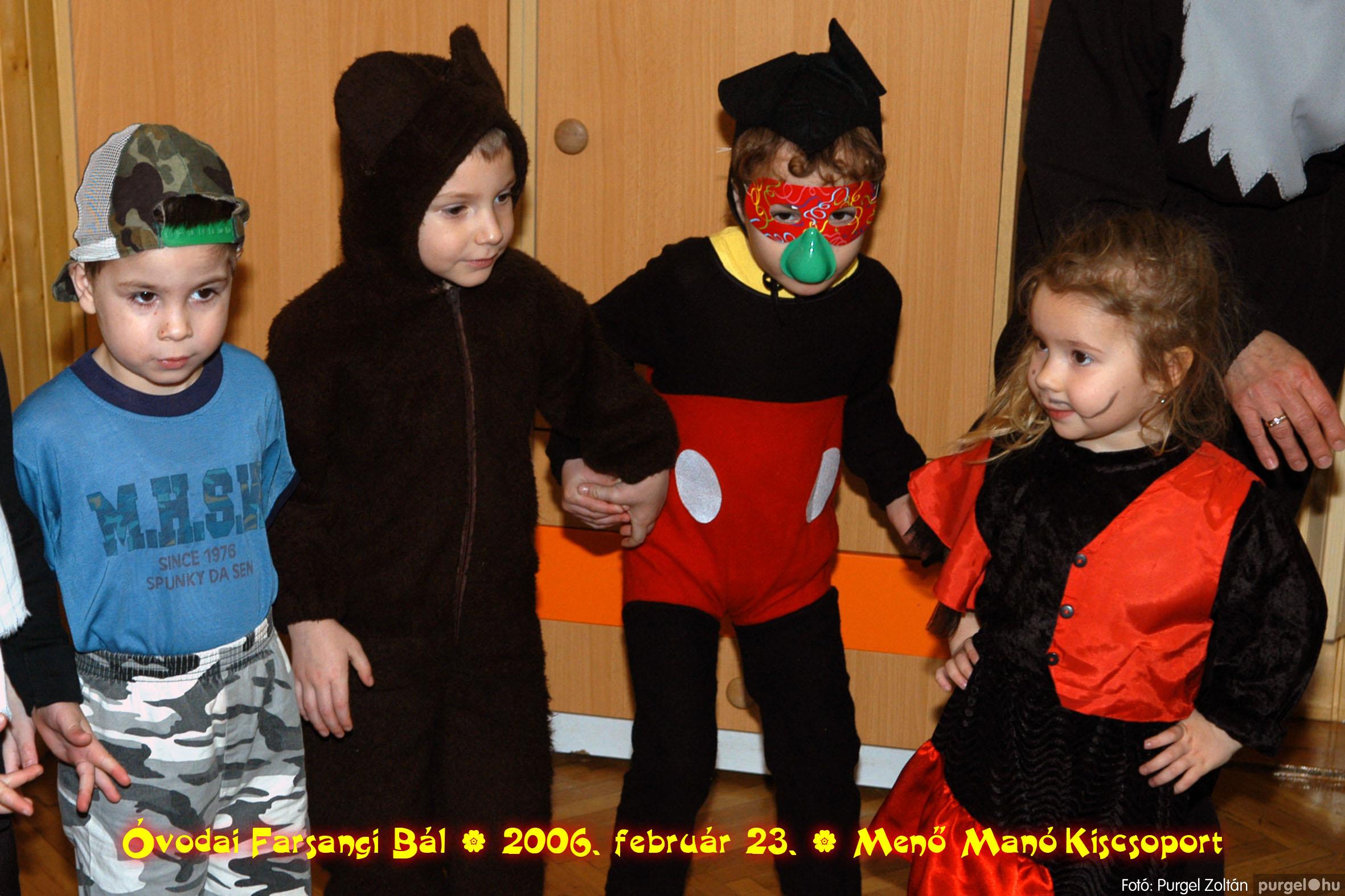 2006.02.23. 042 Kurca-parti Óvoda farsang 2006. - Menő-Manó csoport - Fotó:PURGEL ZOLTÁN©.jpg