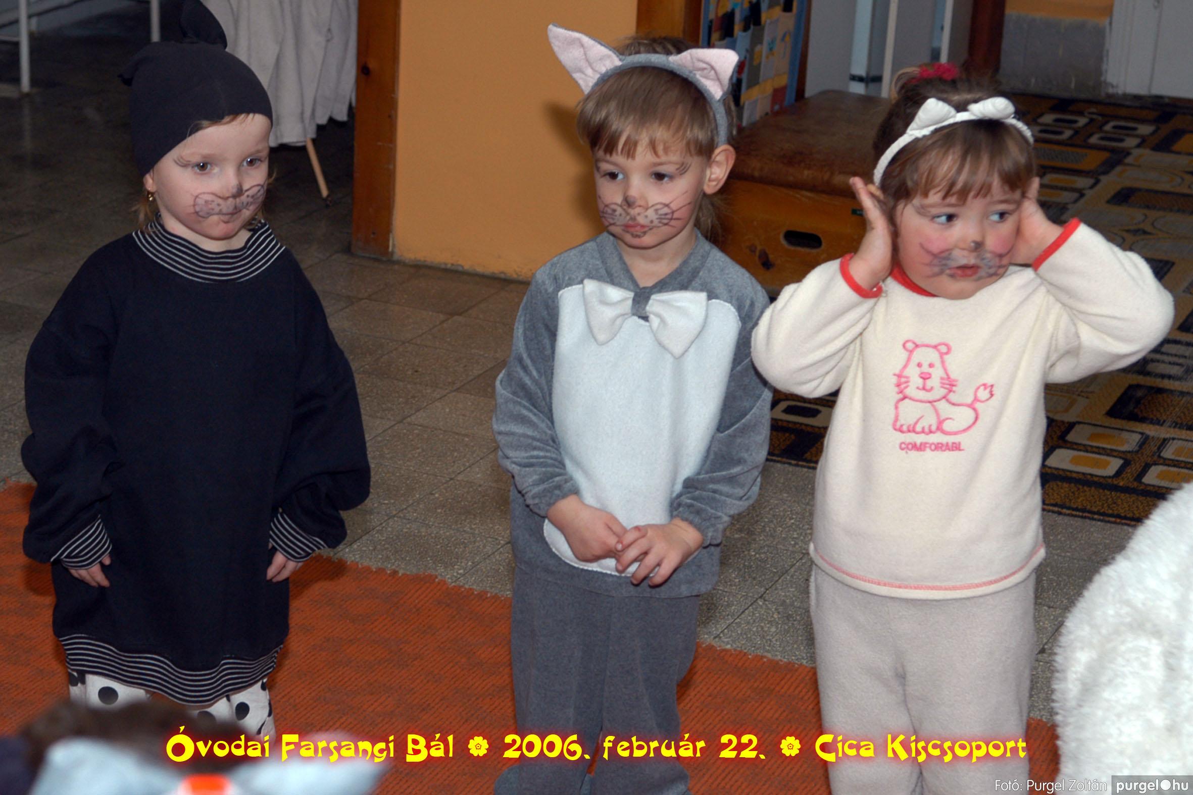 2006.02.22. 026 Kurca-parti Óvoda farsang 2006. - Cica csoport - Fotó:PURGEL ZOLTÁN© 726.jpg