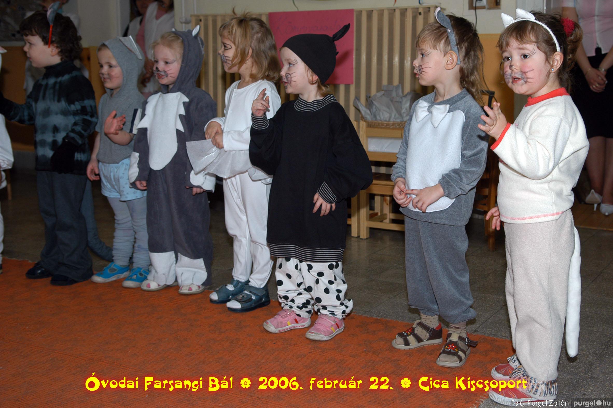 2006.02.22. 018 Kurca-parti Óvoda farsang 2006. - Cica csoport - Fotó:PURGEL ZOLTÁN© 718.jpg