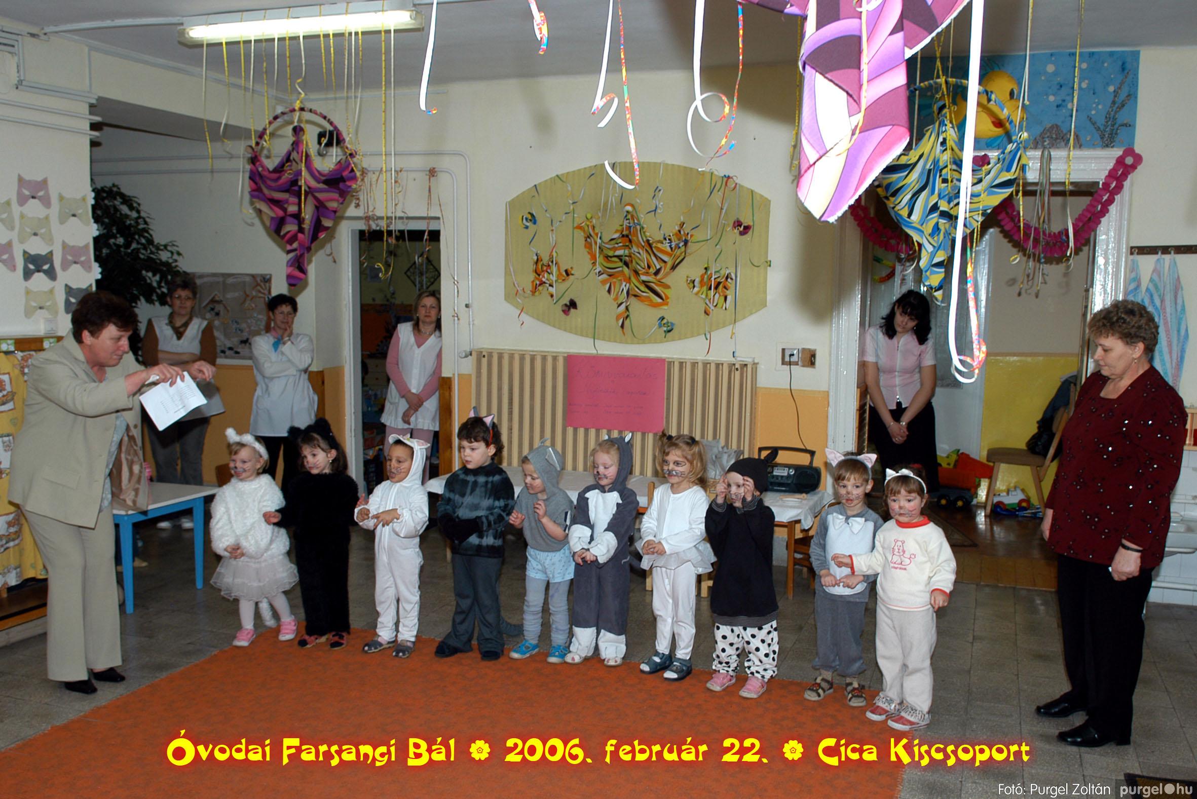 2006.02.22. 017 Kurca-parti Óvoda farsang 2006. - Cica csoport - Fotó:PURGEL ZOLTÁN© 717.jpg