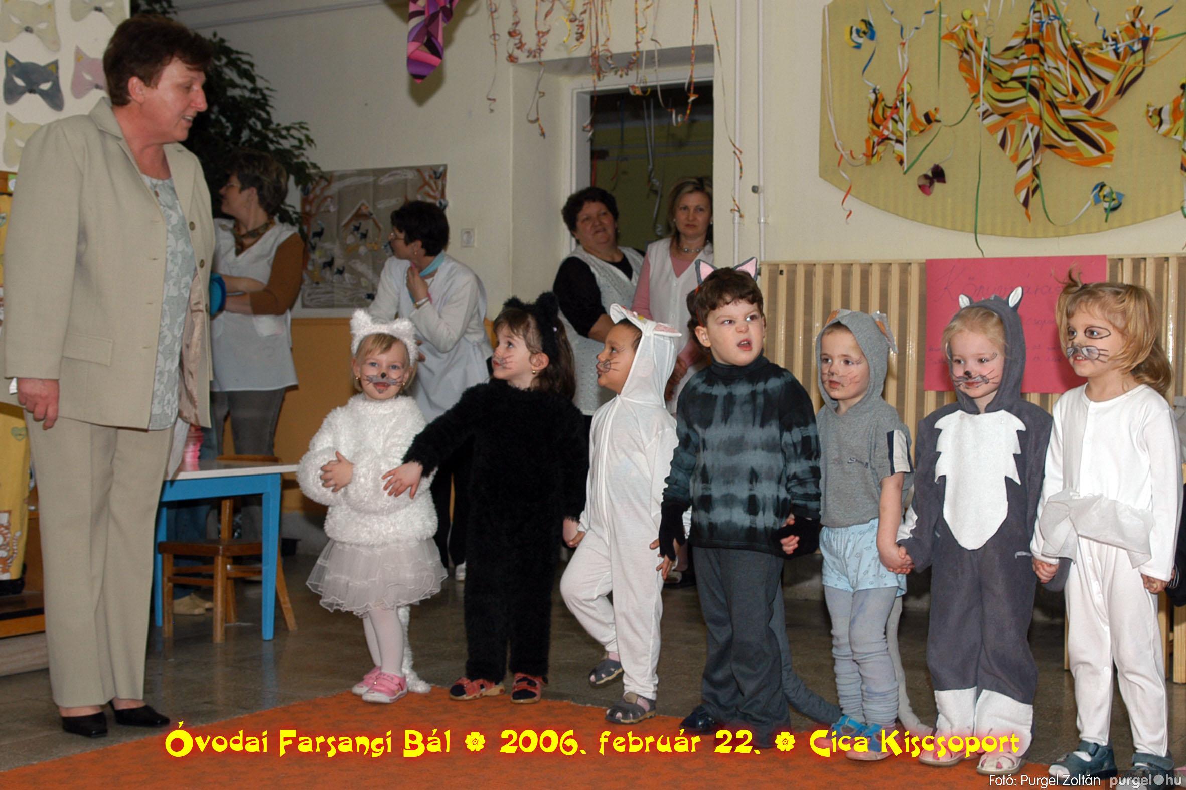 2006.02.22. 012 Kurca-parti Óvoda farsang 2006. - Cica csoport - Fotó:PURGEL ZOLTÁN© 712.jpg