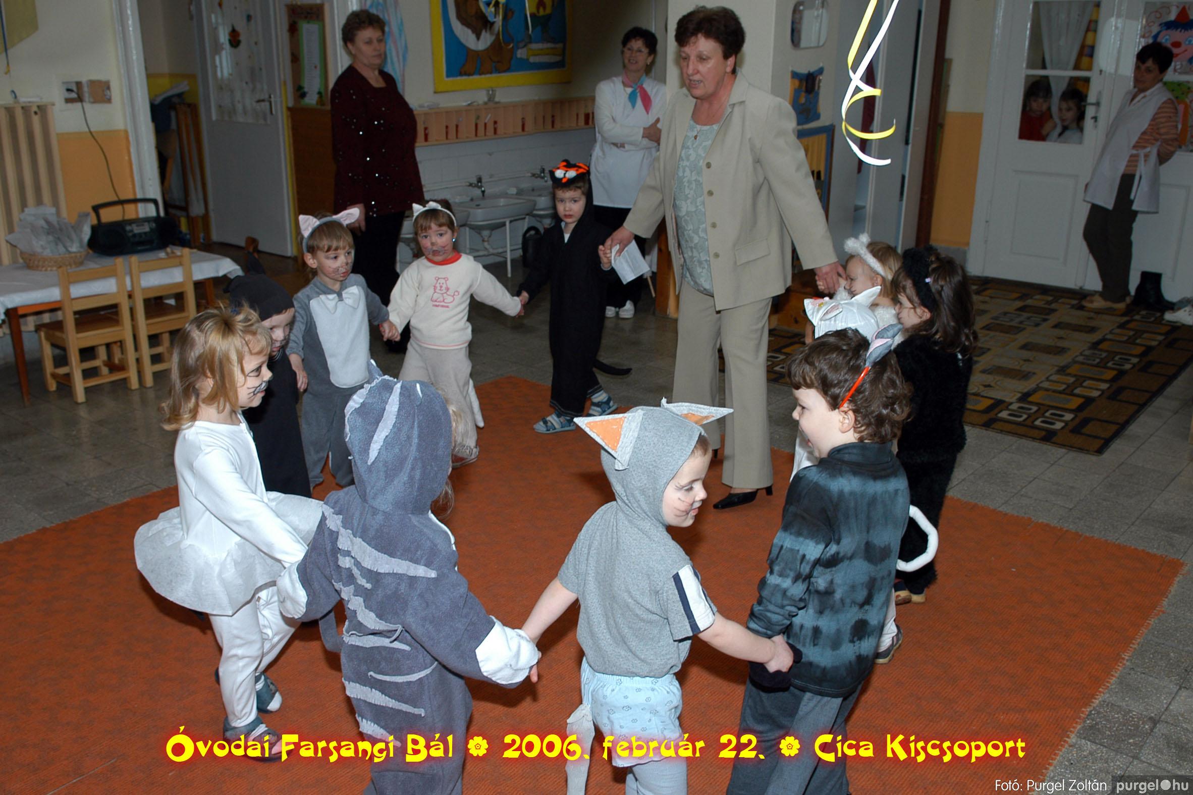 2006.02.22. 003 Kurca-parti Óvoda farsang 2006. - Cica csoport - Fotó:PURGEL ZOLTÁN© 703.jpg