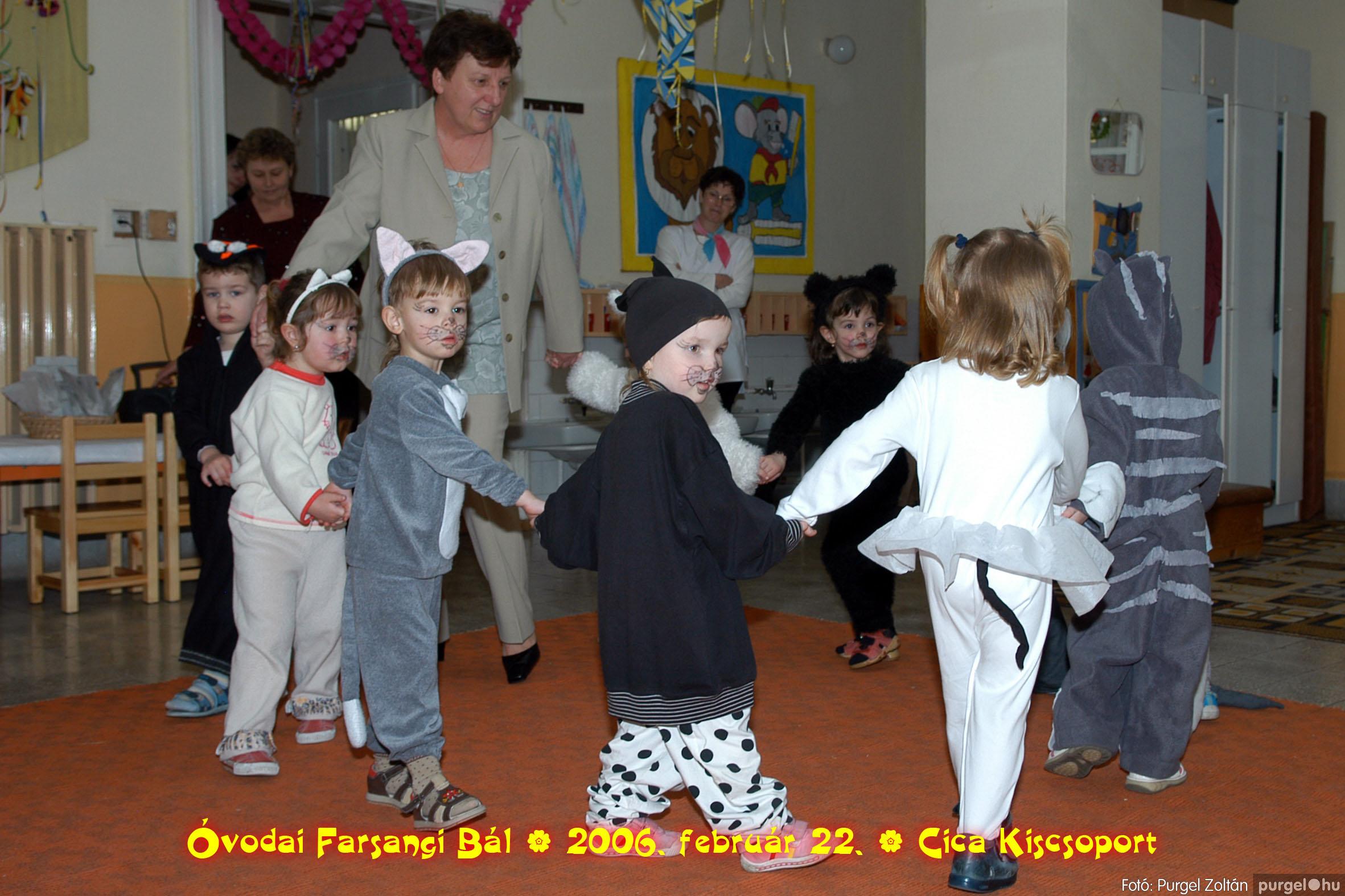 2006.02.22. 002 Kurca-parti Óvoda farsang 2006. - Cica csoport - Fotó:PURGEL ZOLTÁN© 702.jpg